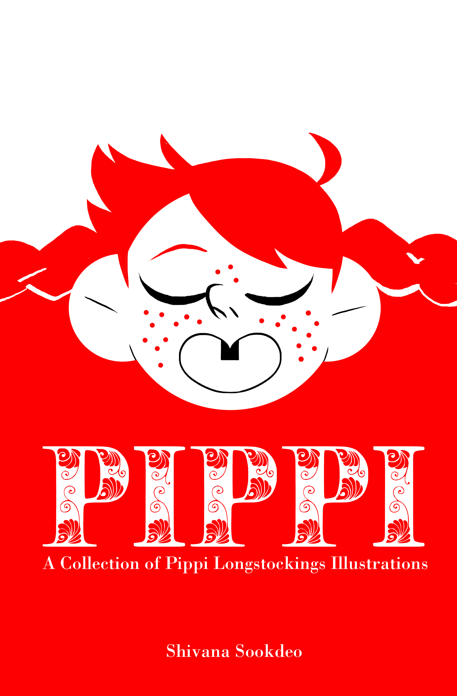 - PIPPI(2017)An assortment of Pippi Longstocking illustrations from Inktober,collected in a zine for TCAF 2017.