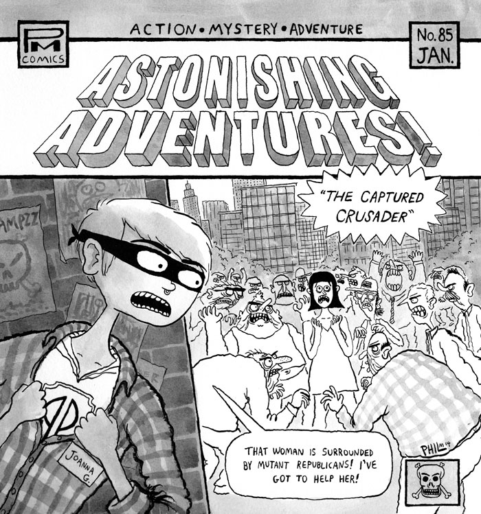 - ASTONISHING ADVENTURES Perfect Pussy + Joanna Gruesome 7
