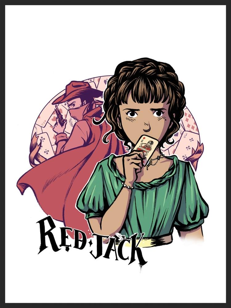 - RED JACK -artist(David Fickling Comics - The Phoenix, 2015)