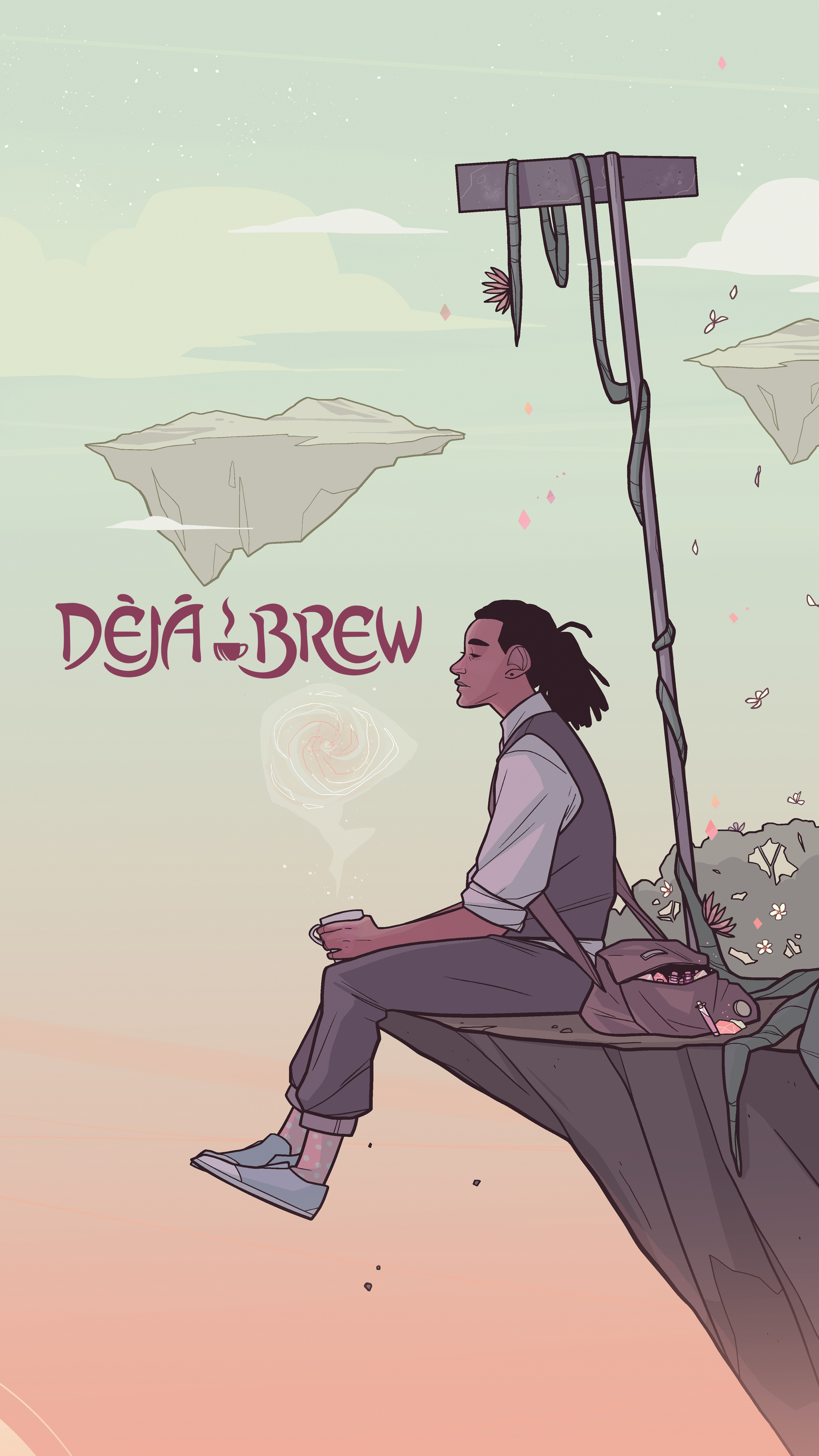 - DÉJÀ BREW - writer(Stela, 2016)2017 Eisner Award nomineeA fresh brew of coffee or a pot of tea is not all it seems at Bijou, where Tobias, an expelled witch academy student, works.