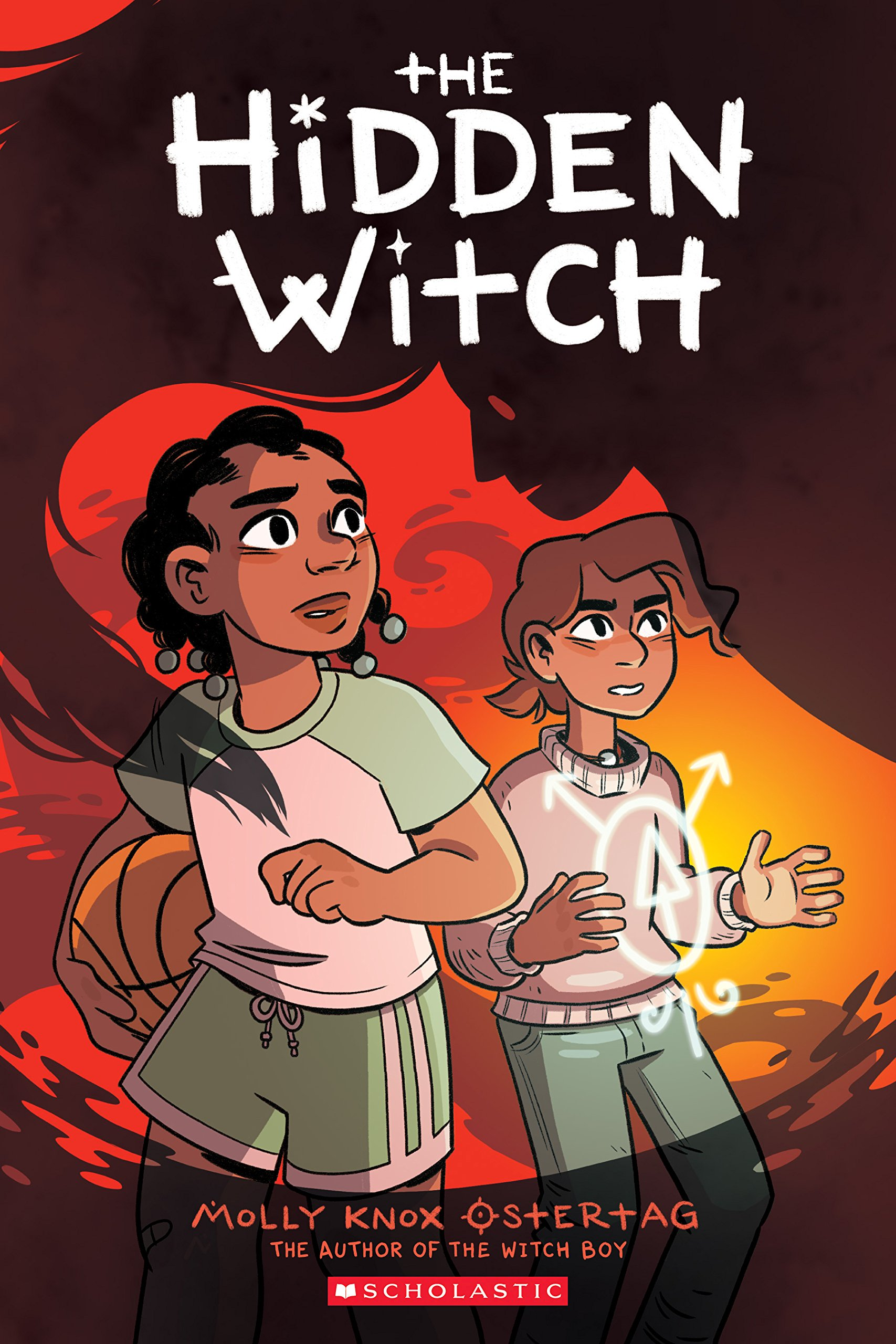 THE HIDDEN WITCH by Molly Ostertag (Scholastic, October 2018)