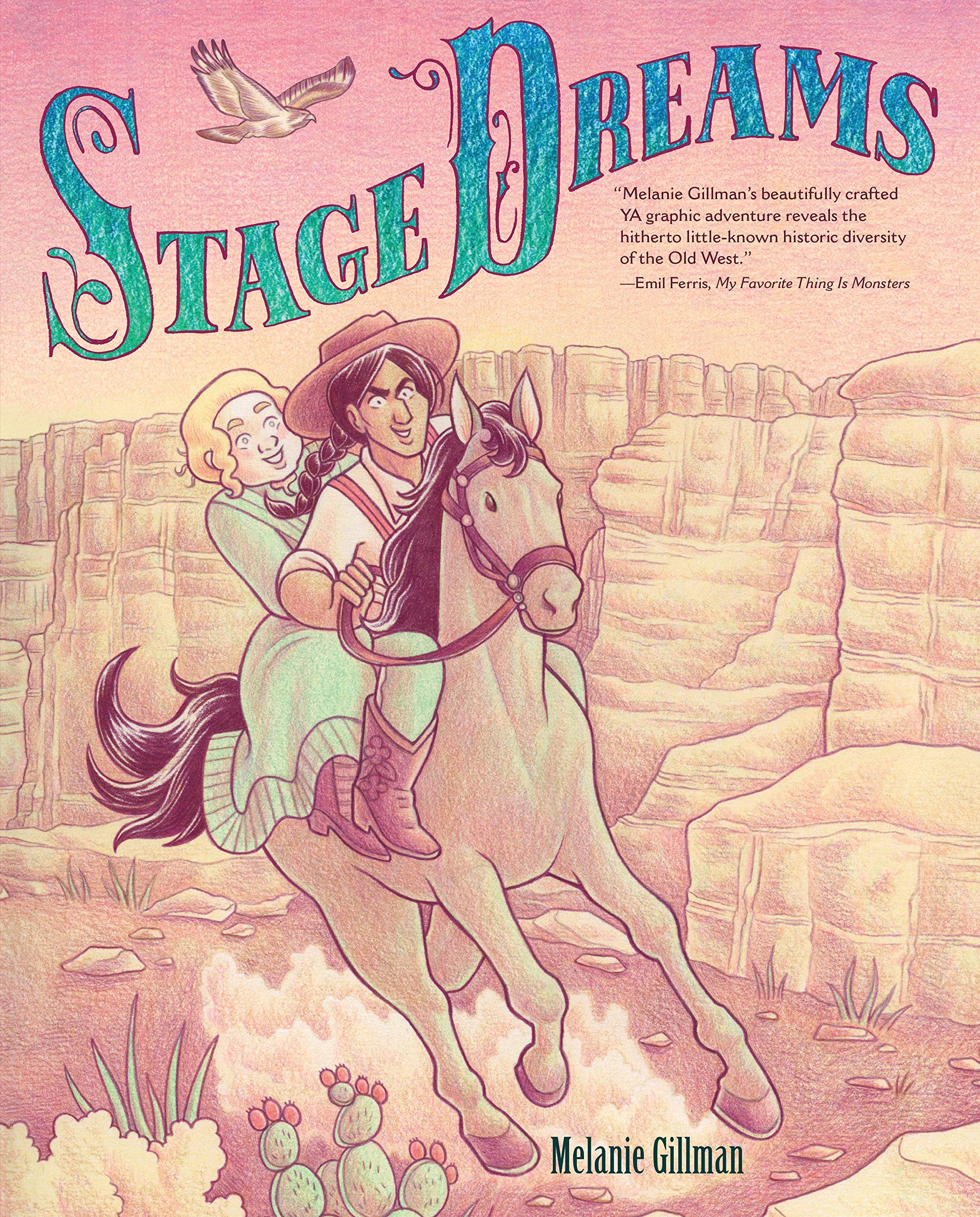 STAGE DREAMS by Melanie Gillman  (Lerner Graphic Universe, Sept 2019)