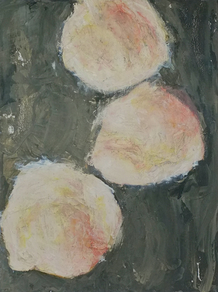 Poached Eggs, Oil on Wood, 12 X 16 inches, 2015 13