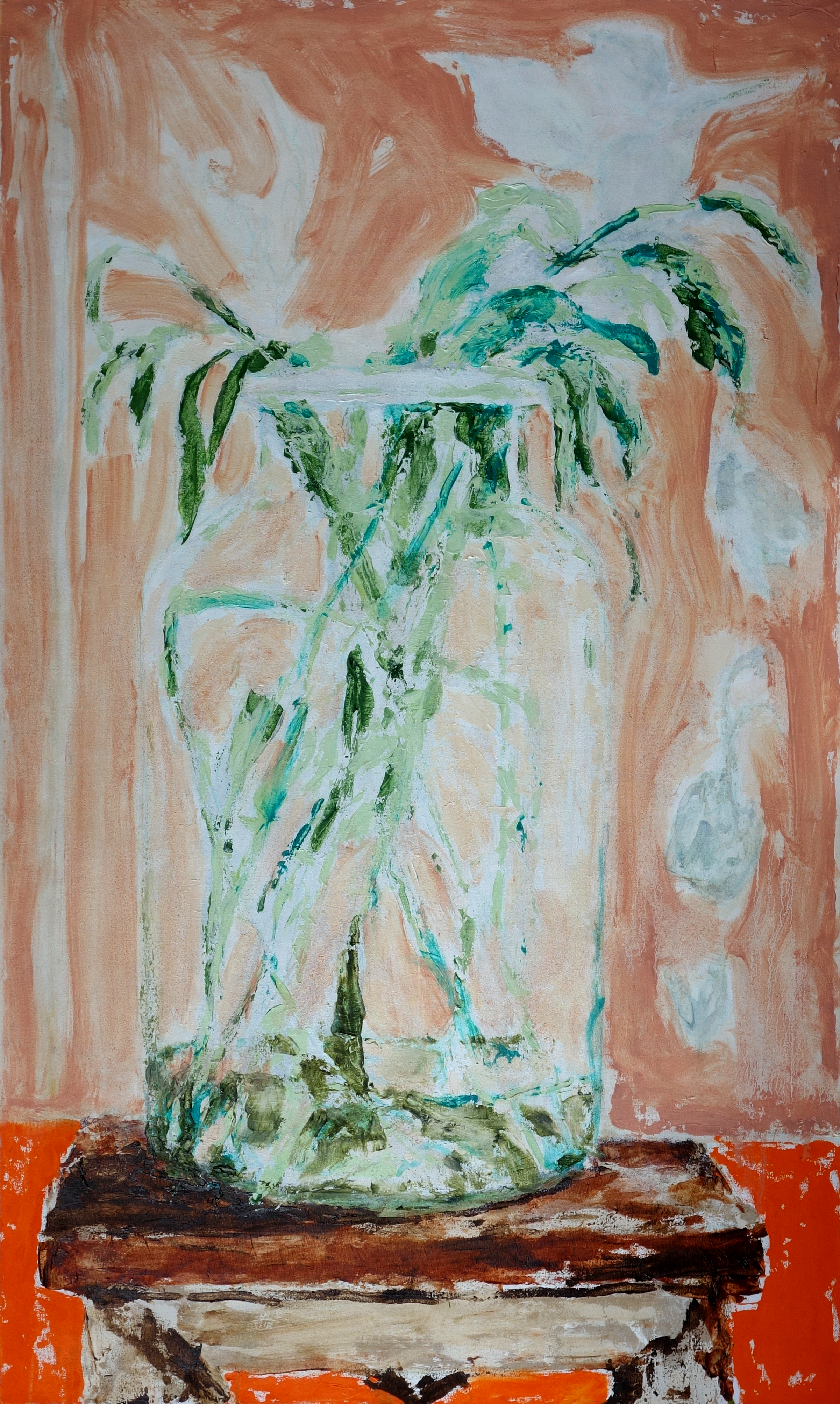Green Energy, Oil on Canvas