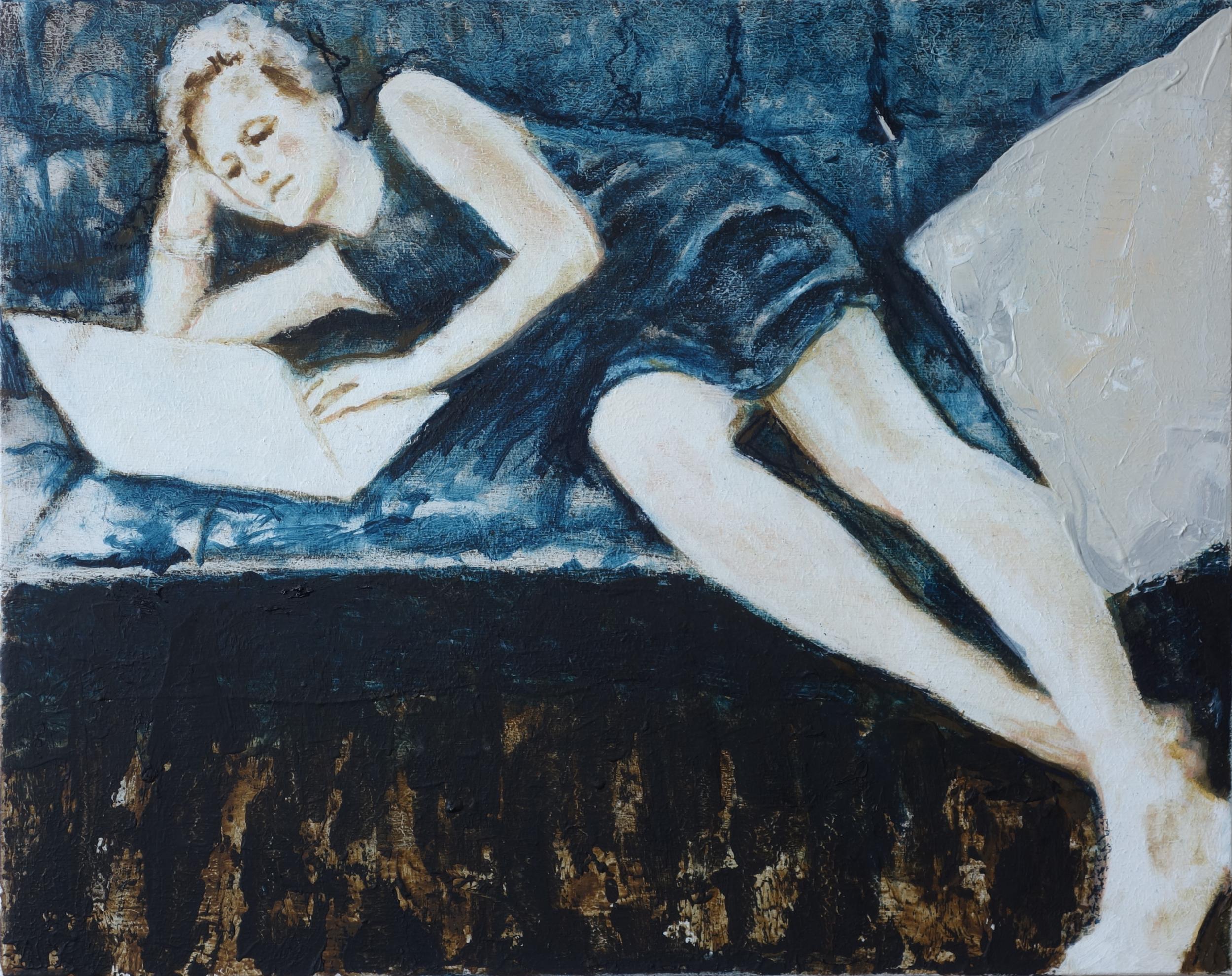 Clara, Oil on Wood