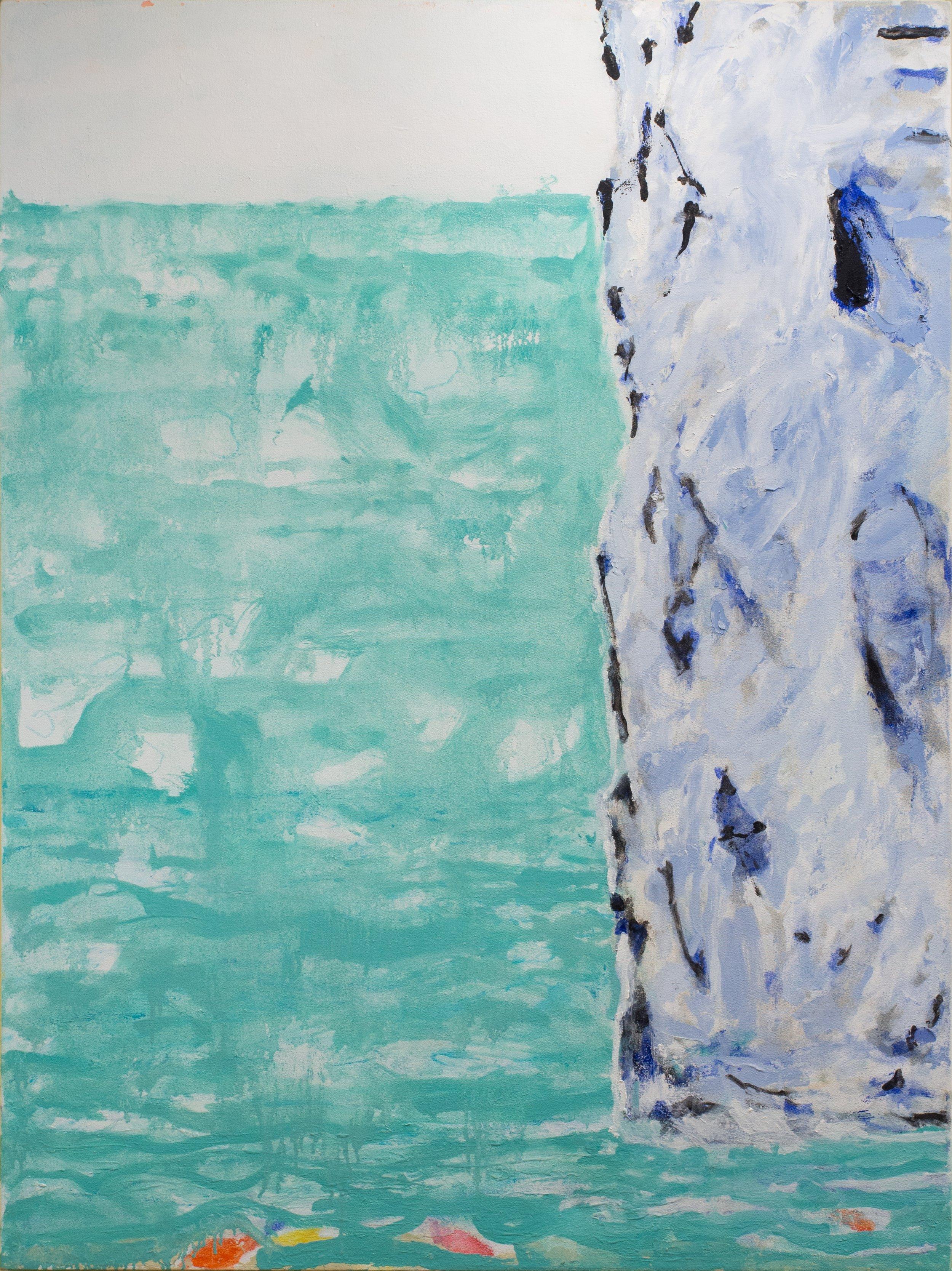 Iceberg,  Oil on Canvas