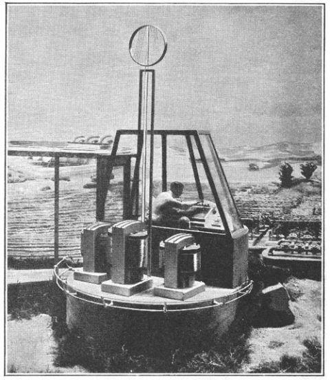 Popular Mechanics, 1939, Radio Controlled Farm of the Future