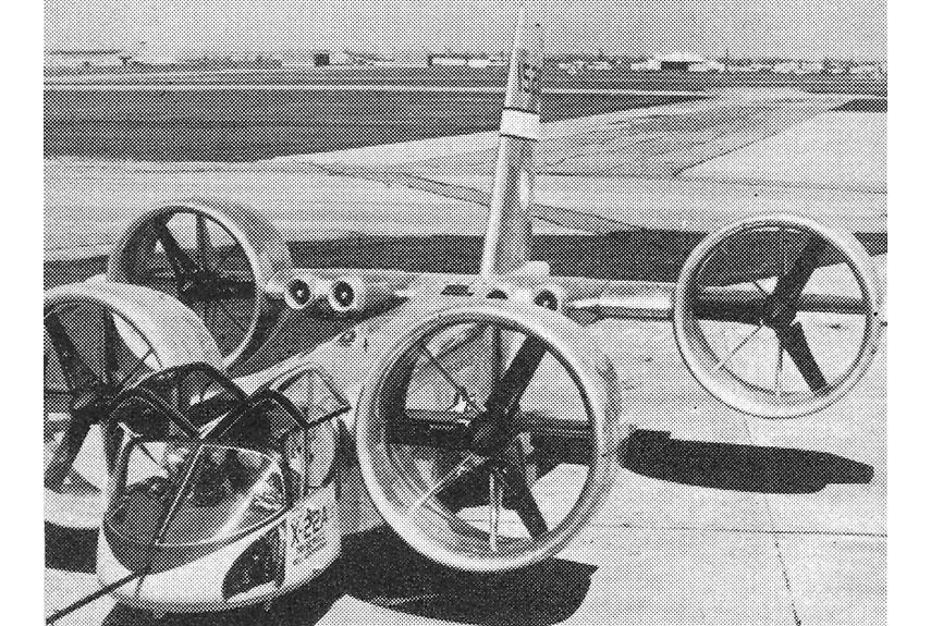 Popular Mechanics, 1965, Vertical Takeoff and Landing Planes