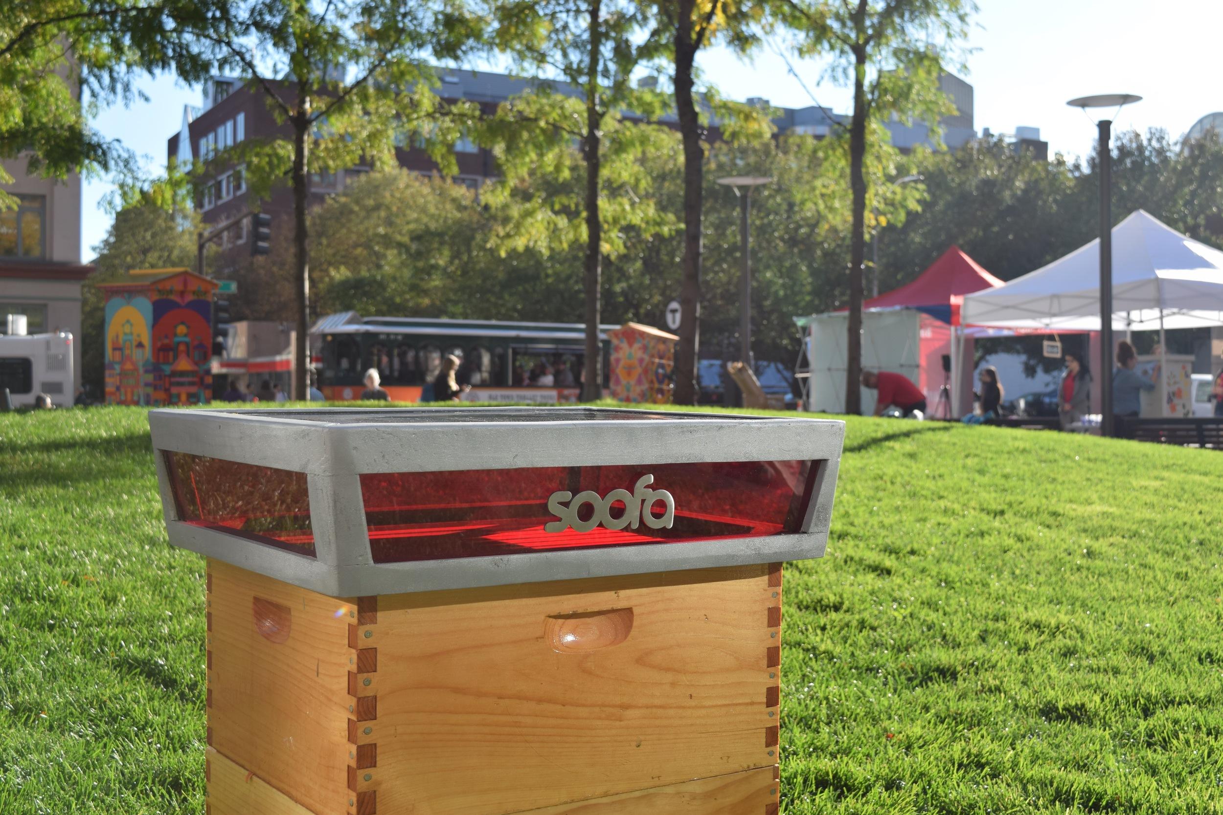 The Soofa Smart Hive