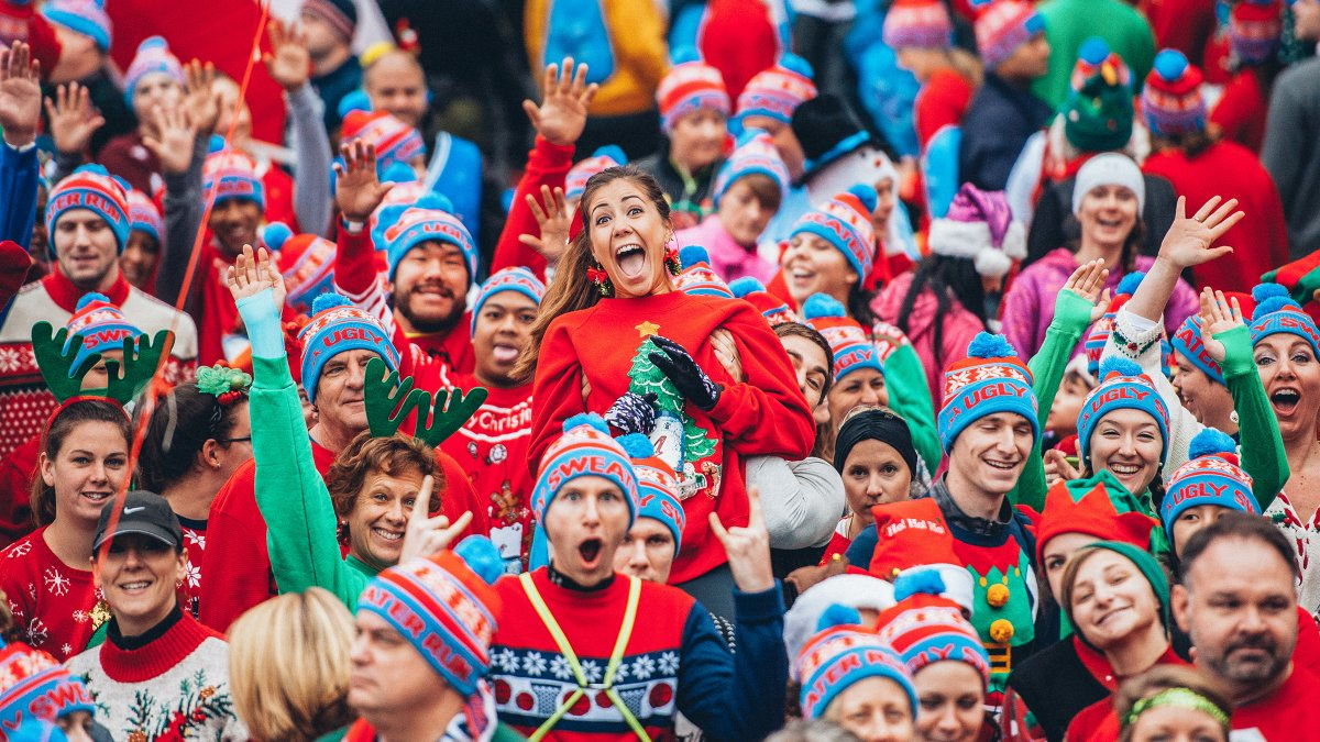 6. Ugly Sweater Runs - The most festive 5Ks of the season, all about having fun and breaking out your favorite ugly Christmas sweater.