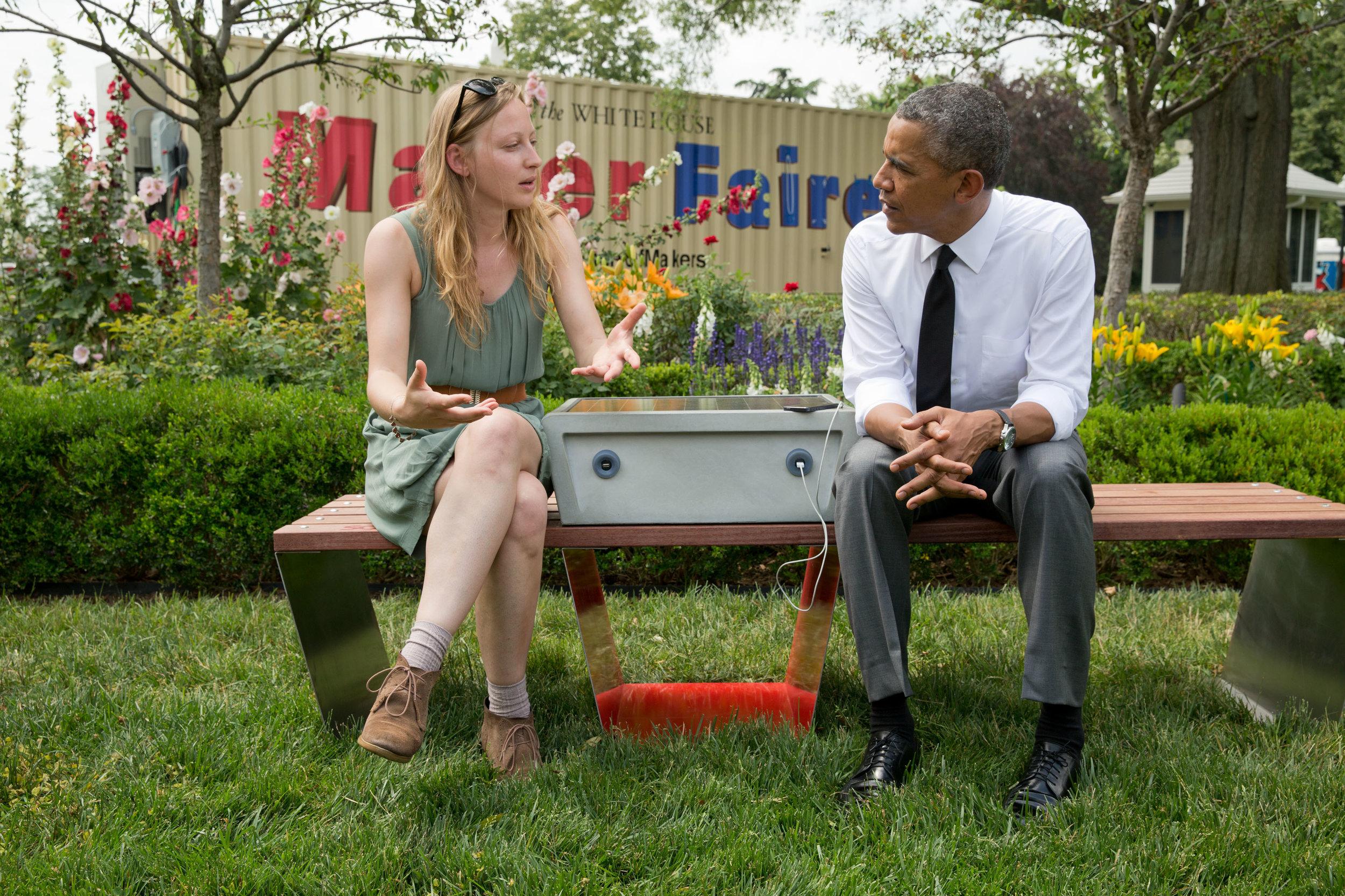 Soofa at the White House