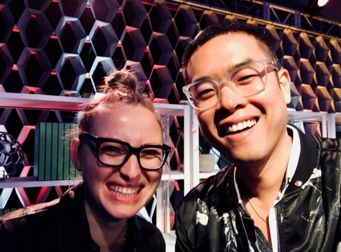 David Sun Kong & Sandra Y Richter - Change Maker Conference Co-Hosts