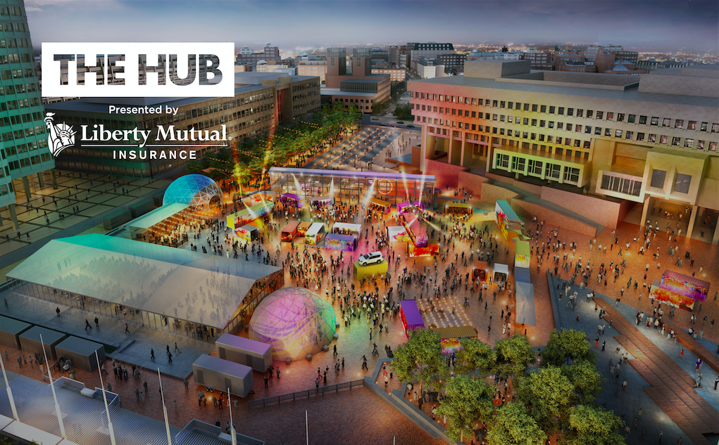 The HUB layout in 2018