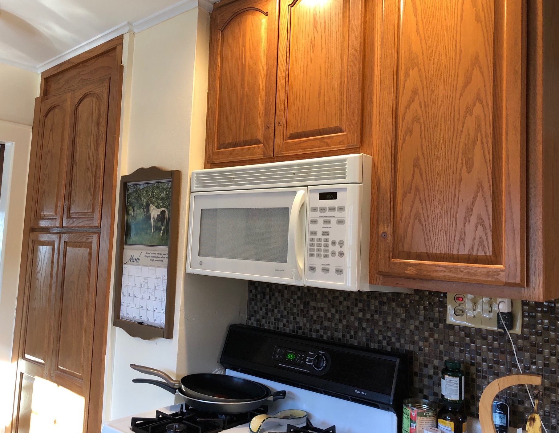This homeowner in Brunswick couldn't wait to brighten her kitchen.