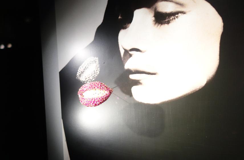 A smiling brooch by Dalí