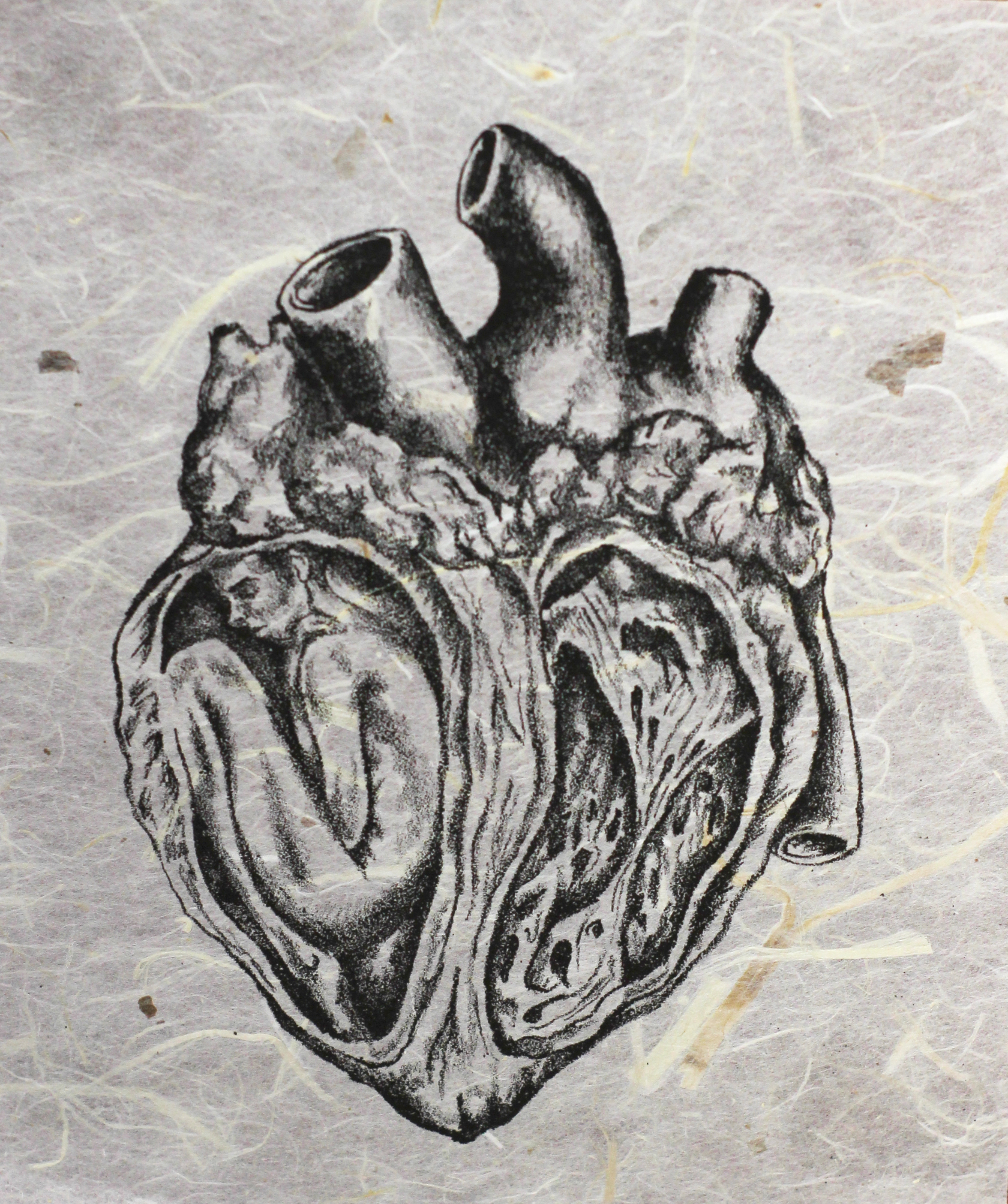 Kristina Carbrey's lithograph  Place in My Heart