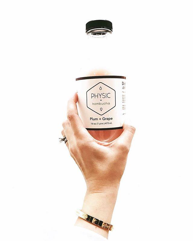 Label design for @physickombucha #kalamazoo #design