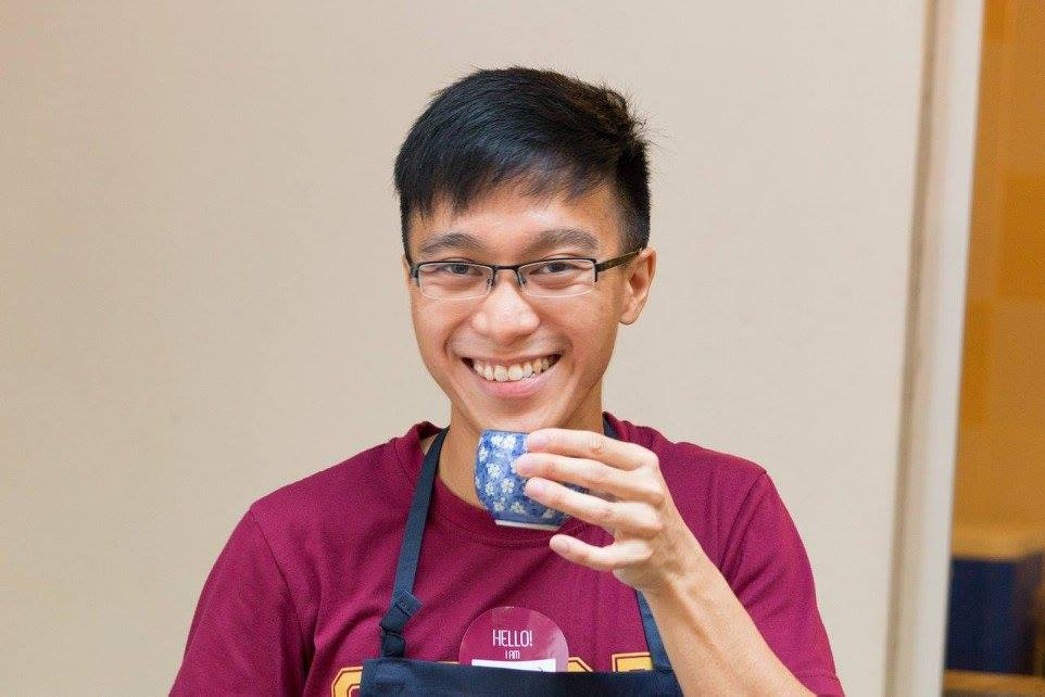 LIM WEI JIE, founder of Foreword Coffee -