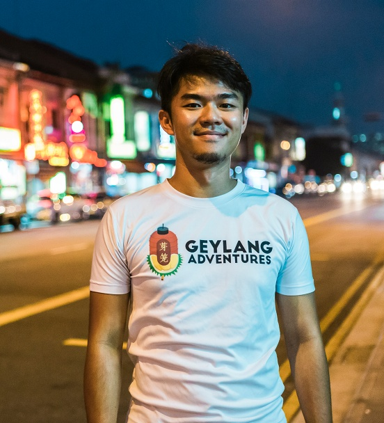 Yinzhou — Geylang Adventures, Singapore
