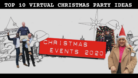Top 10 Virtual Christmas Party Ideas The Big Smoke Events