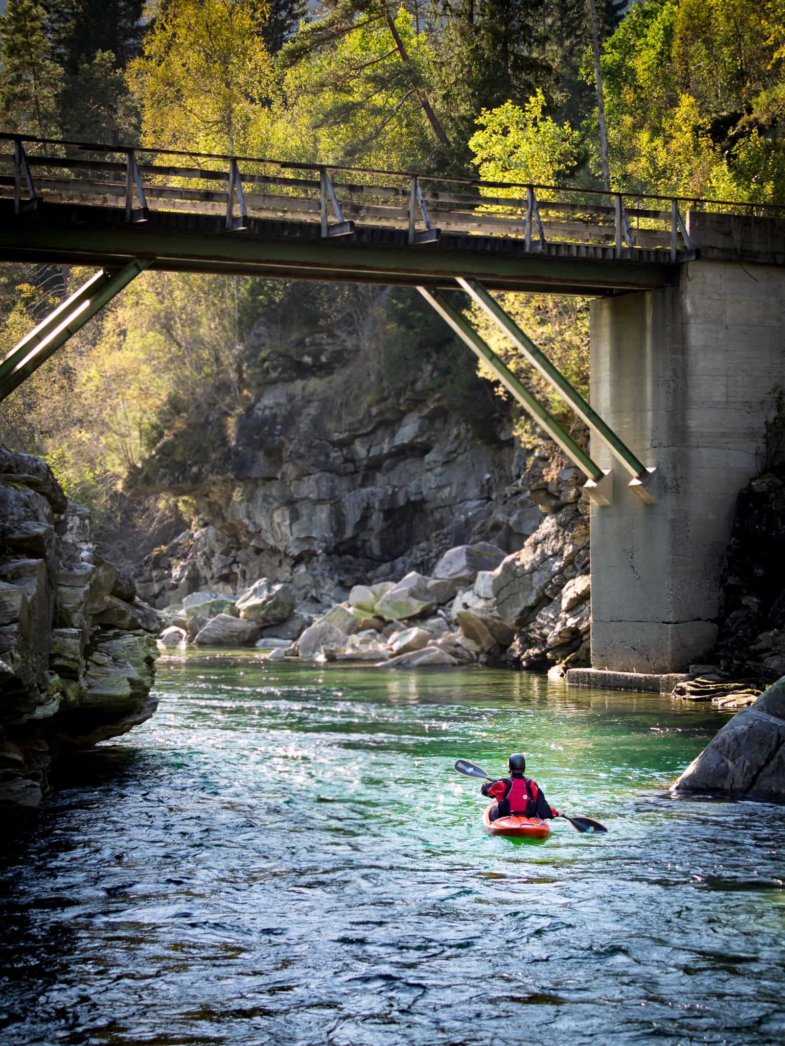 Boat Scouting, Raundalselva. Norway, 2016.