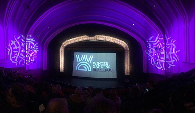 At the Winter Gardens Film Festival about to see Sequins in this beautiful venue. #sequinsfilm #dragfilm #shortfilm #blackpool #wintergardens #dragqueen #lgbtq #lgbtfilm #filmscreening #filmmaker #filmfestival