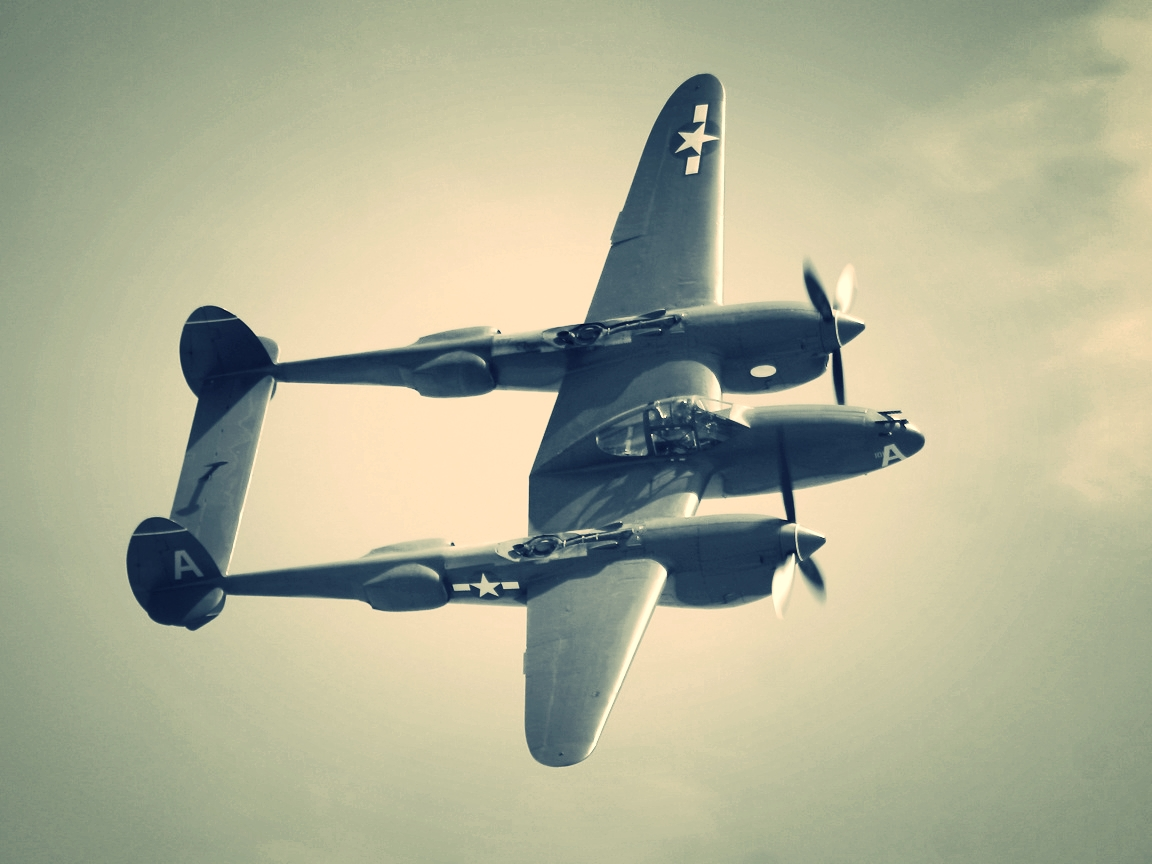 The famous Lockheed P-38 Lightning World War II twin engine fighter which name was the inspiration for the K-38