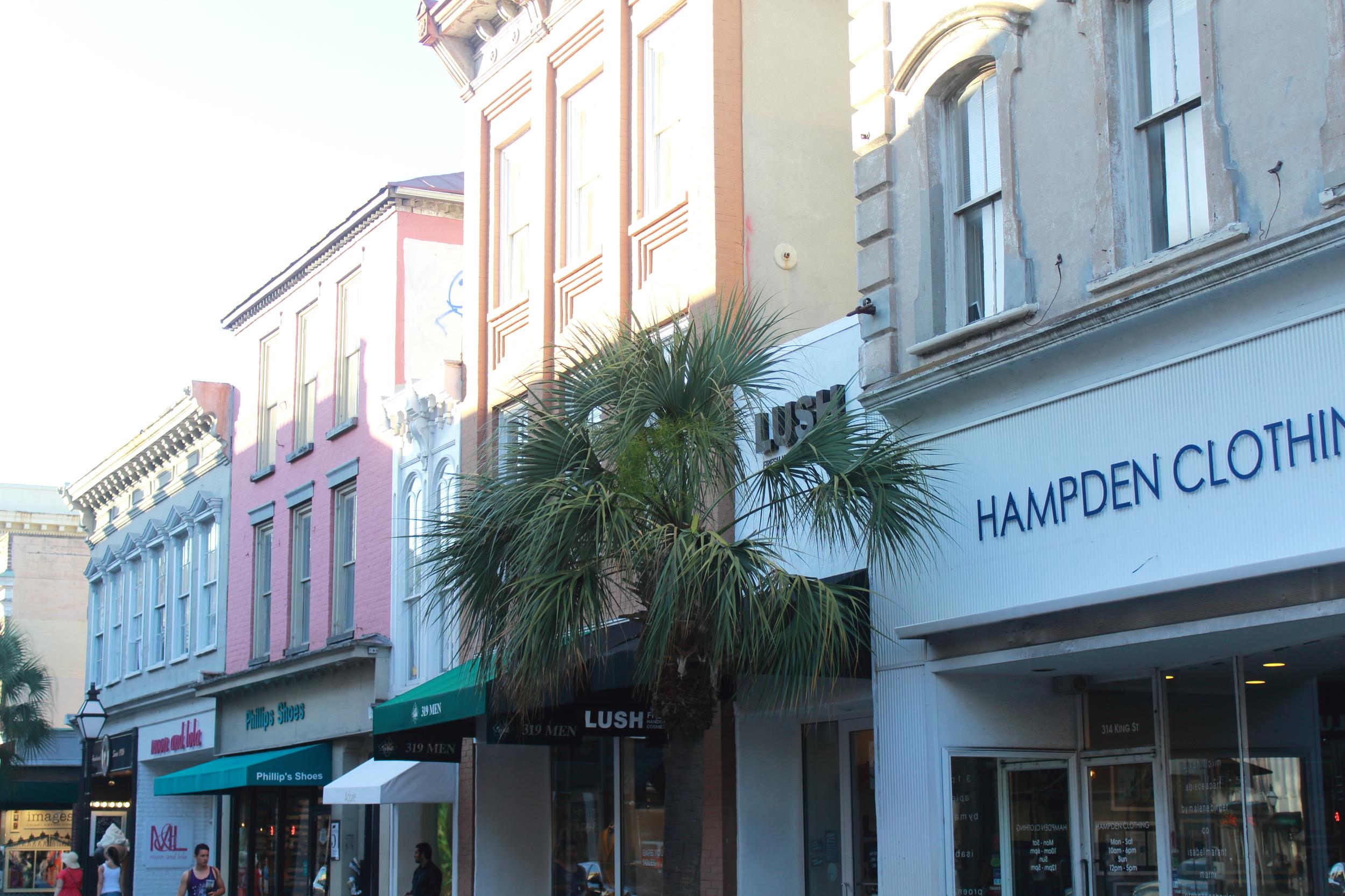 King Street in Charleston, SC