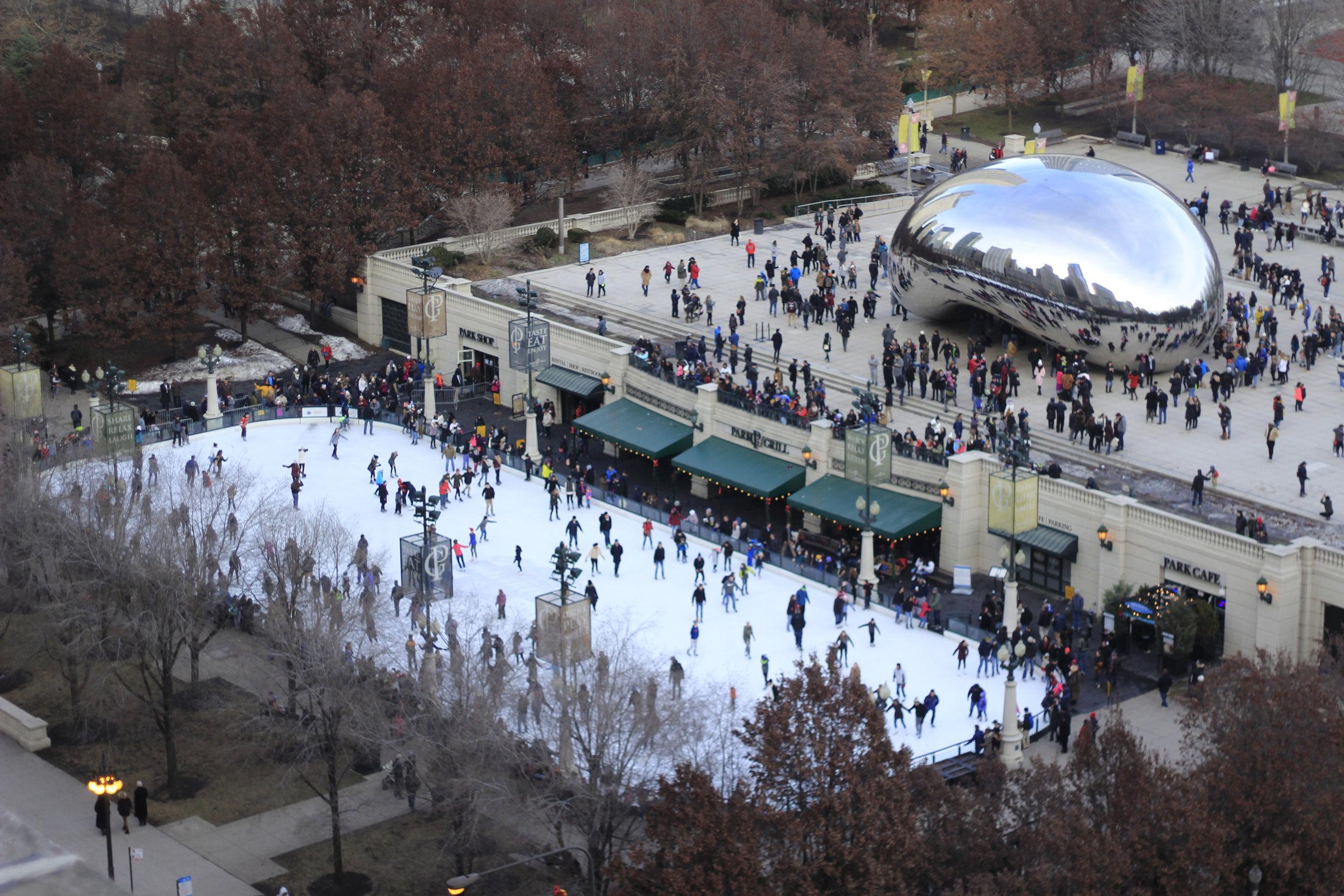 Chicago in December