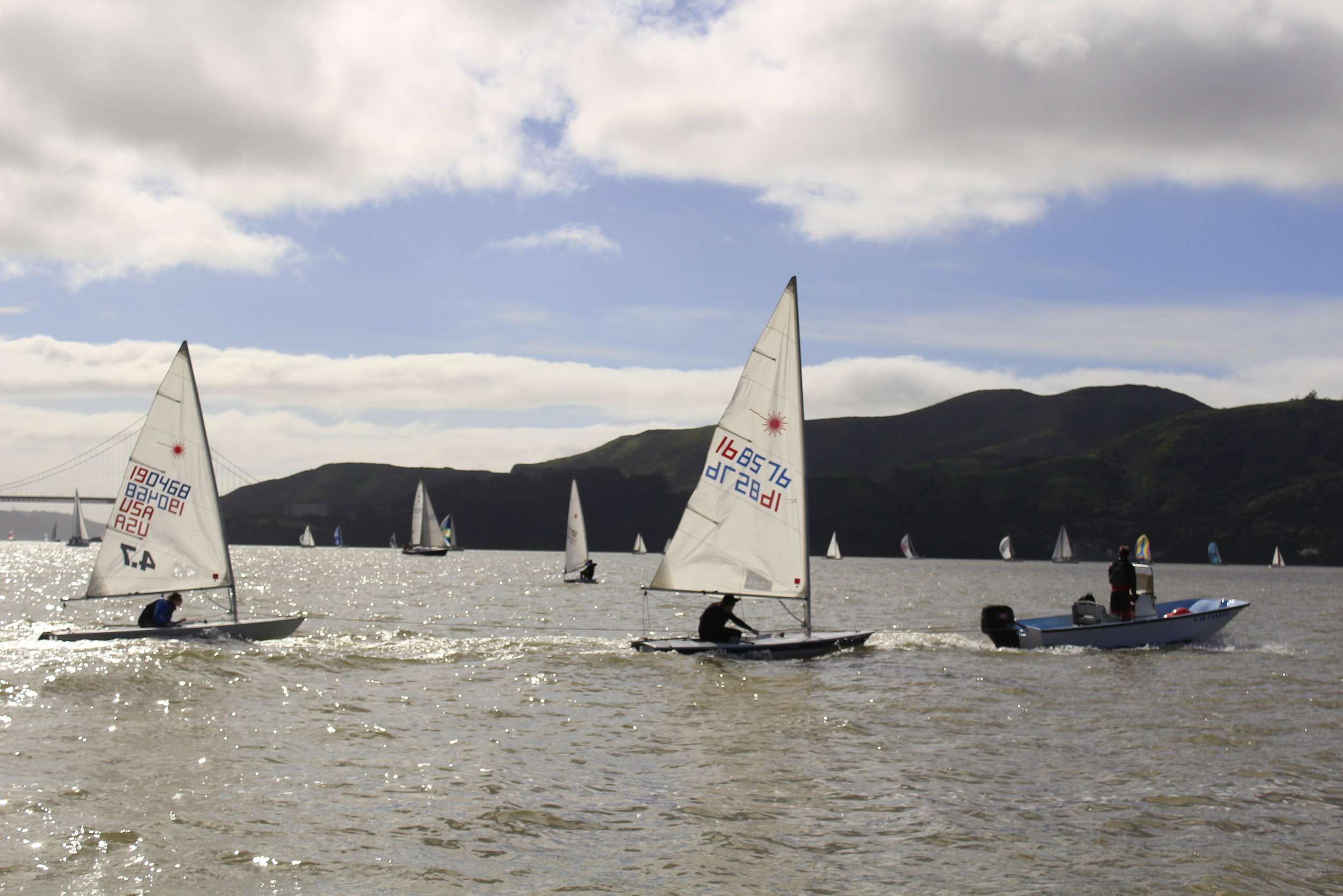 dinghy races in san francisco