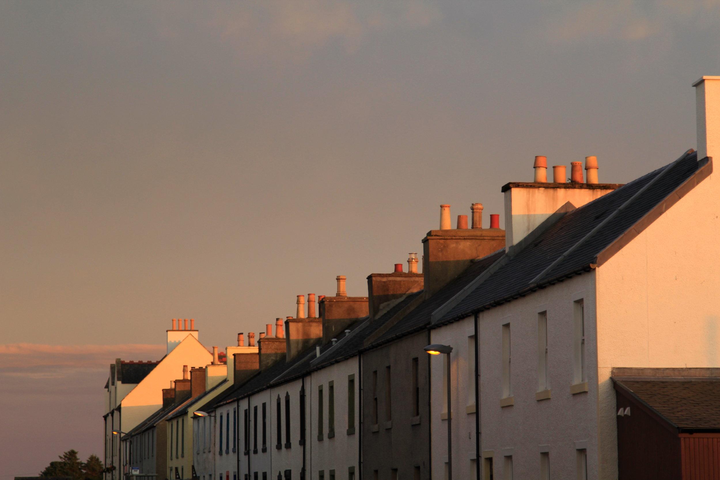 Golden hour in Islay, Scotland
