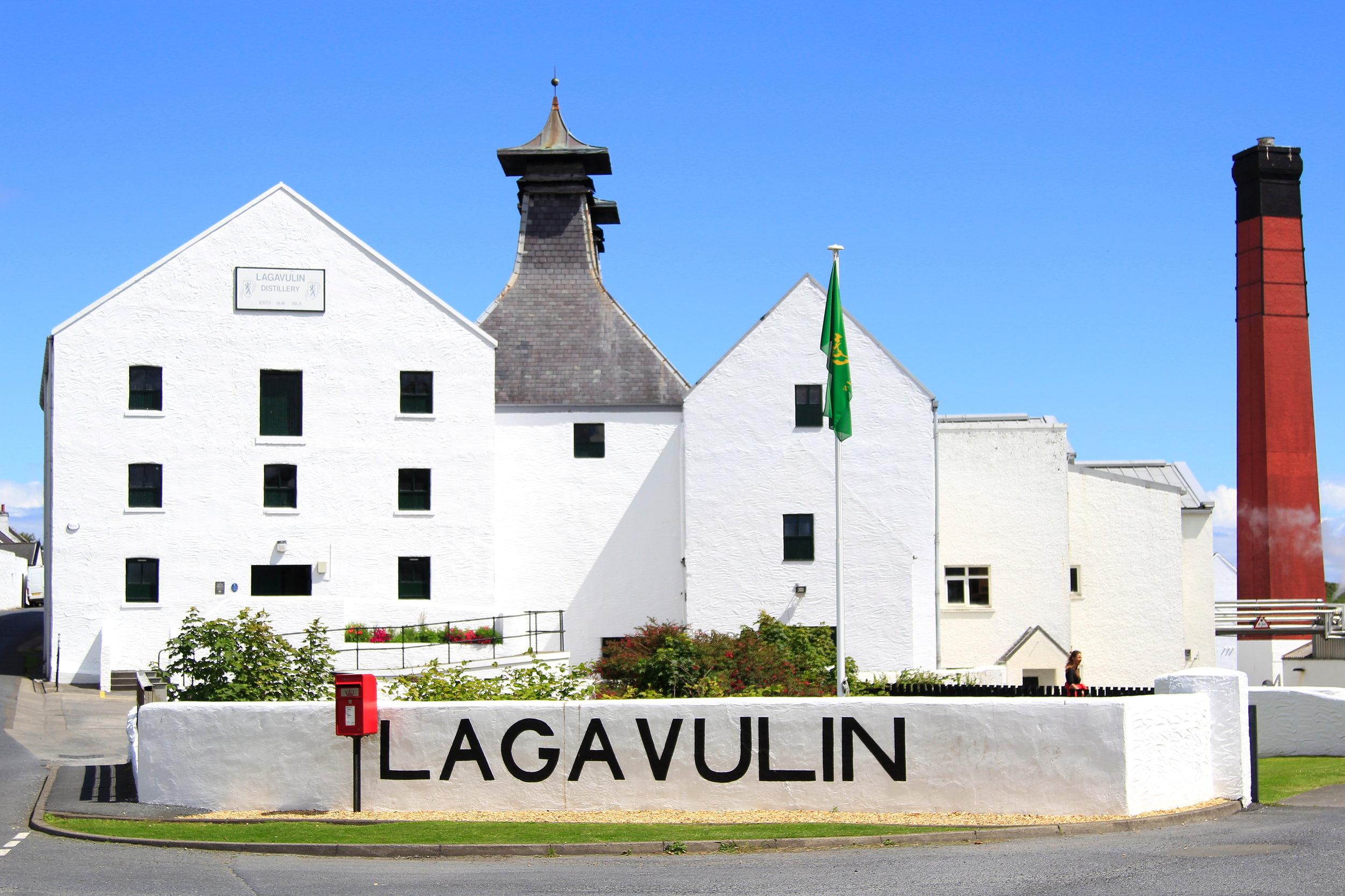 Lagavulin Distillery, Islay, Scotland