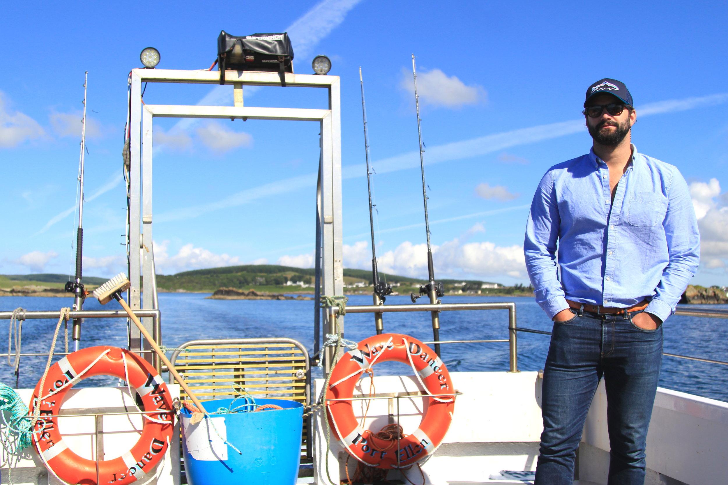 sea fishing in Islay