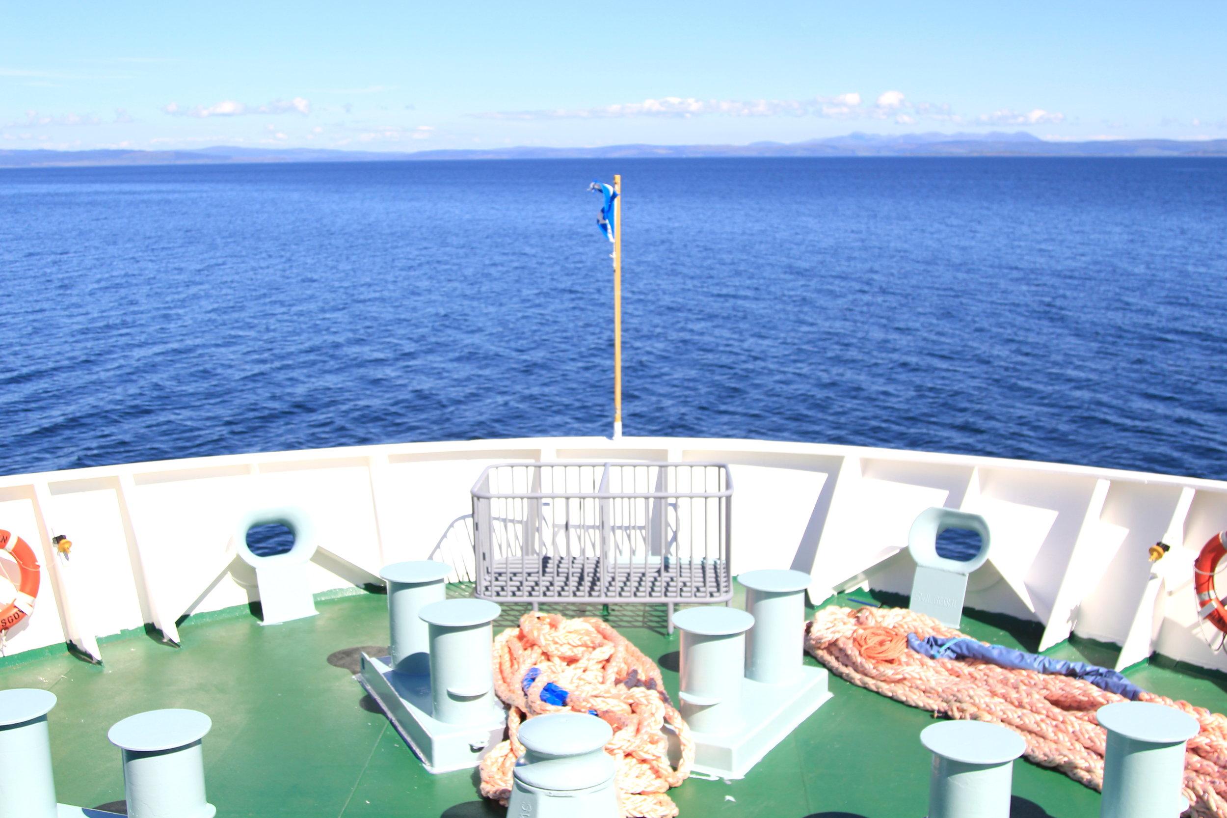 Ferry to Islay, Scotland
