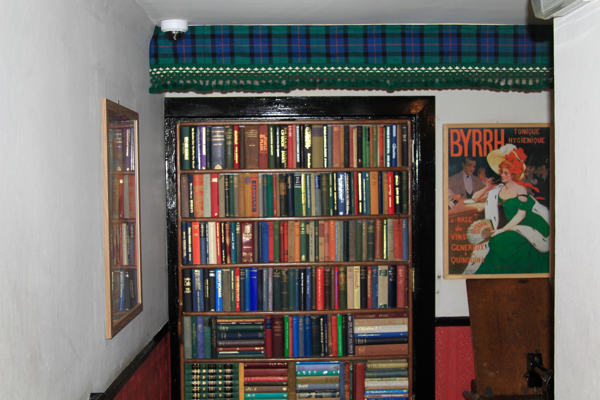 Panda and Sons speakeasy in Edinburgh - you enter through the downstairs bookcase! Such a great bar in Edinburgh, Scotland.