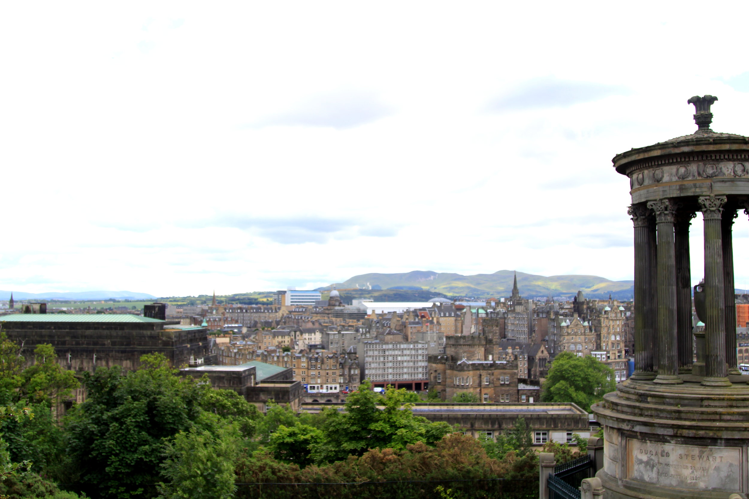 Calton Hill, Edinburgh - SUCH great views of the city