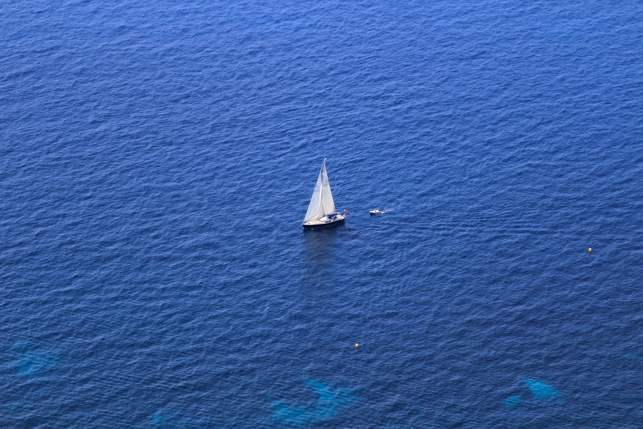 Sailing in the French Riviera