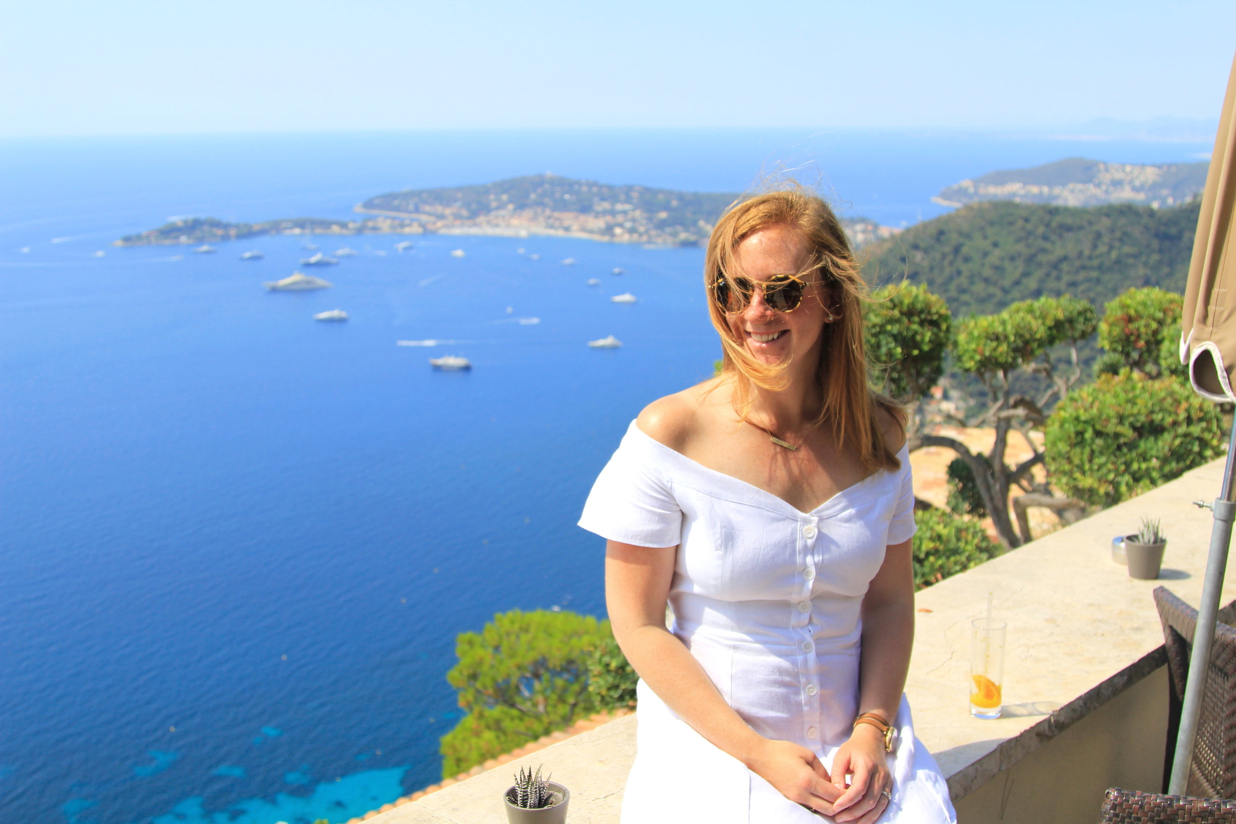 Reformation Mariposa Dress in the French Riviera