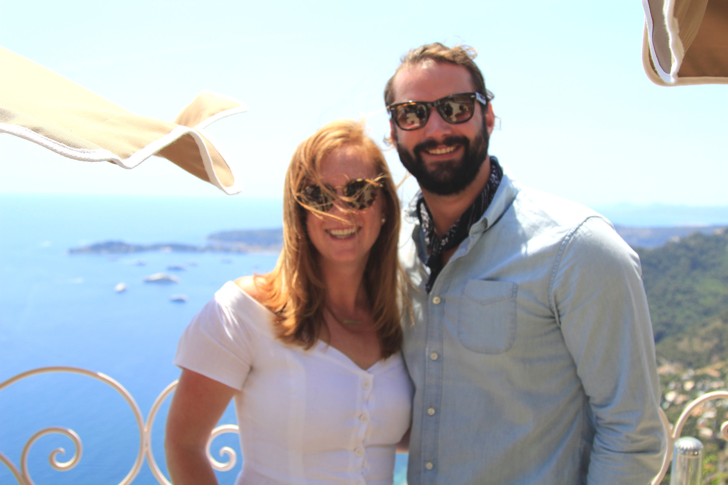 Chevre D'or - the perfect place on the French Riviera for a romantic meal