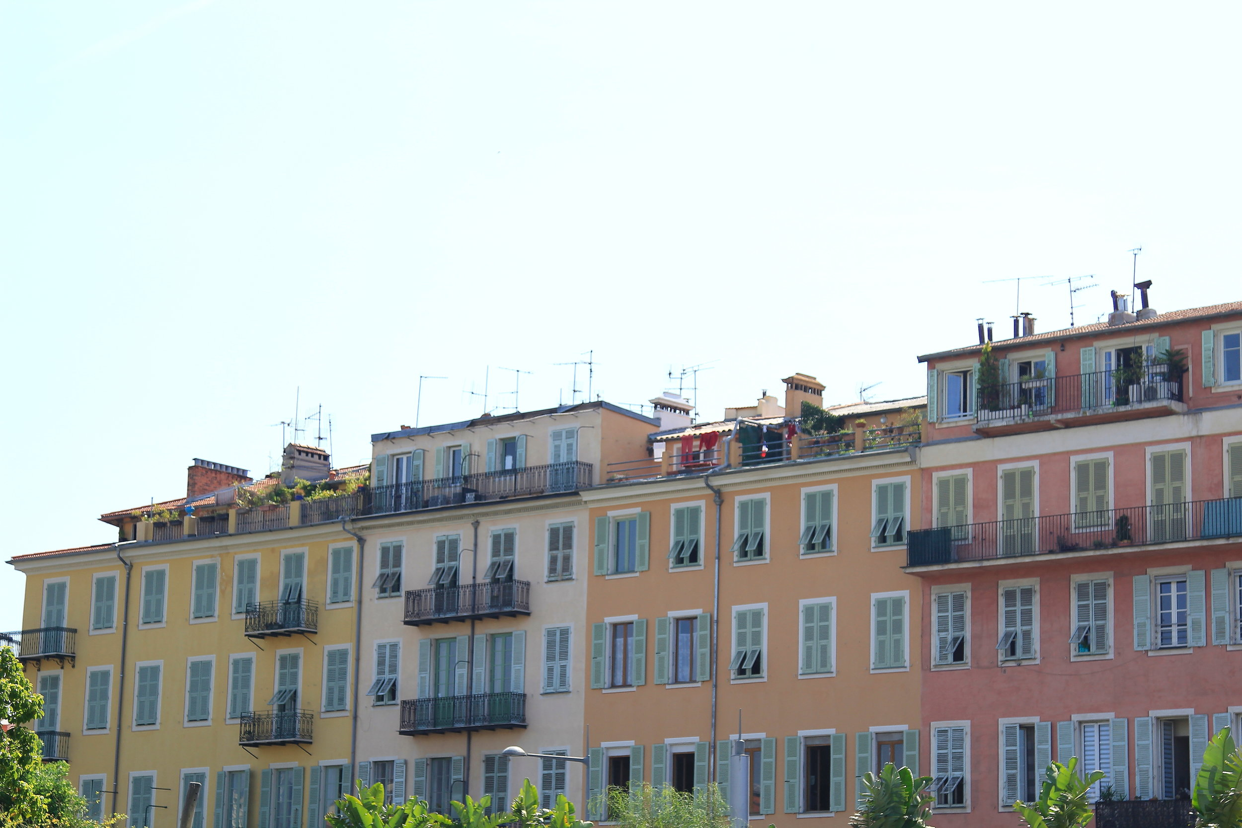 The colors of the South of France
