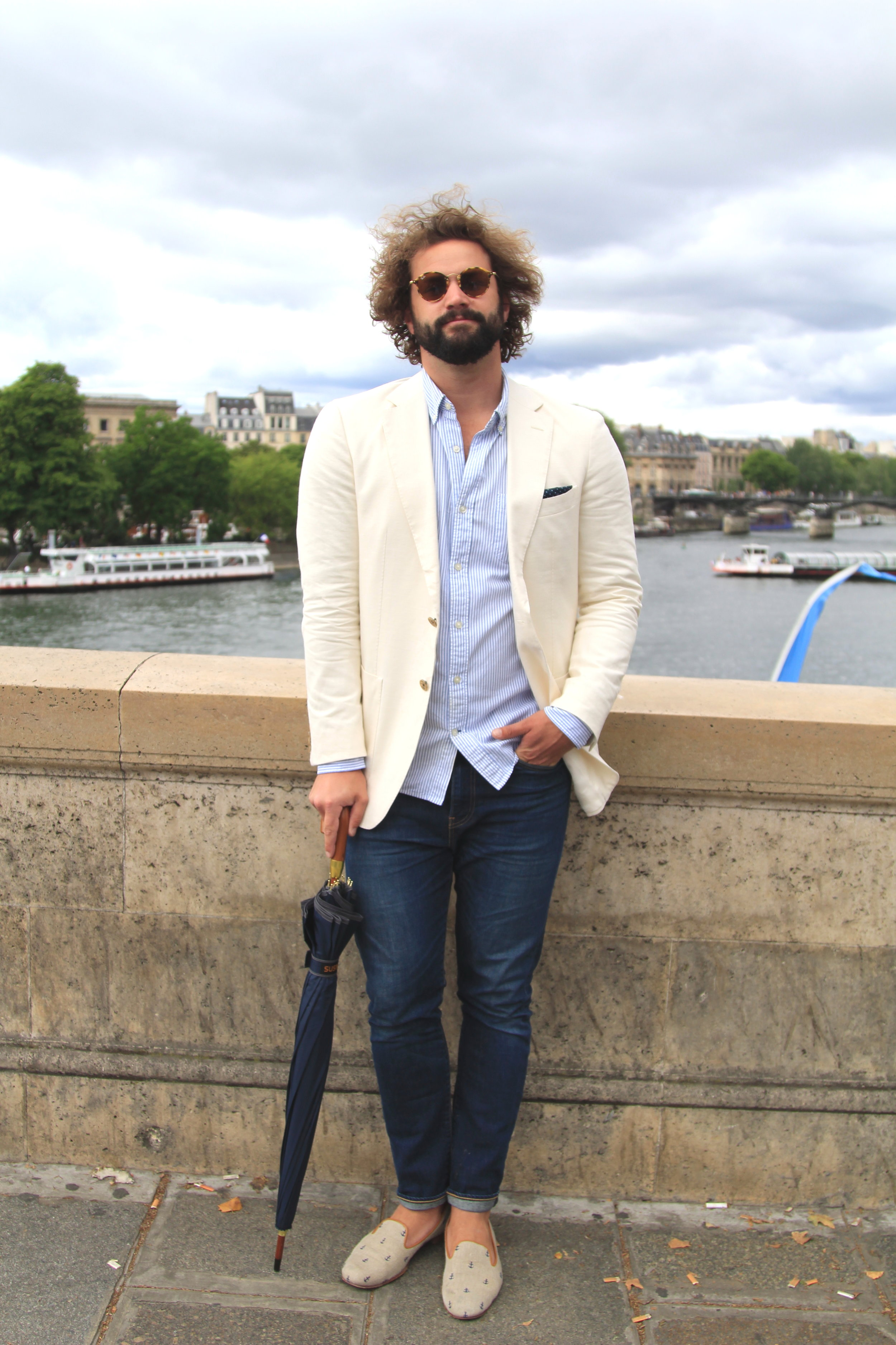 Men's fashion in Paris
