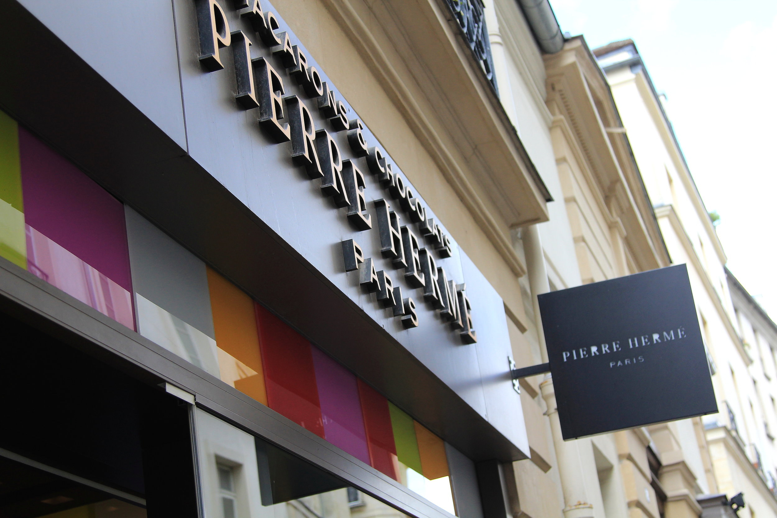 Pierre Herme in Paris - better macarons than Laduree