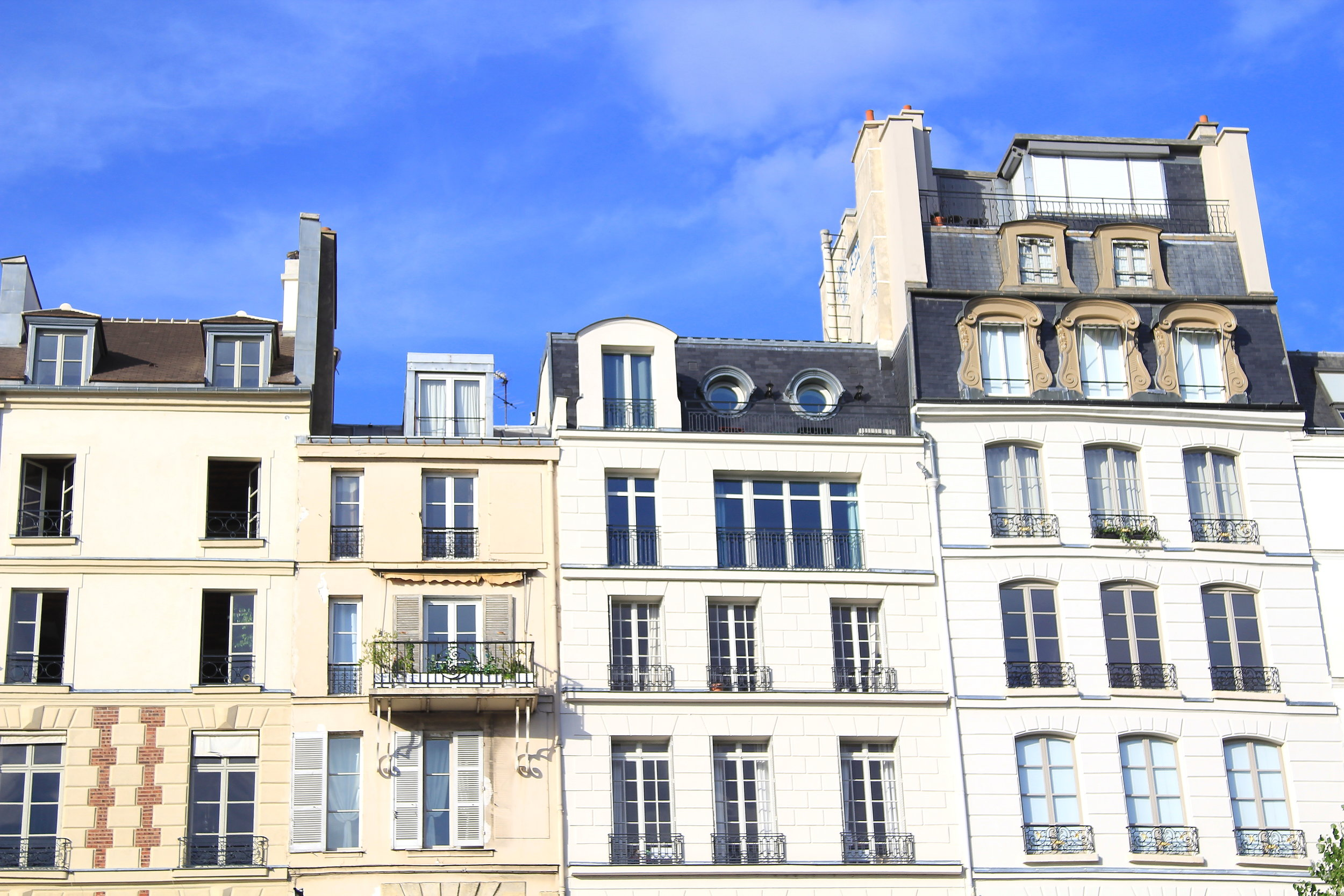 Paris homes
