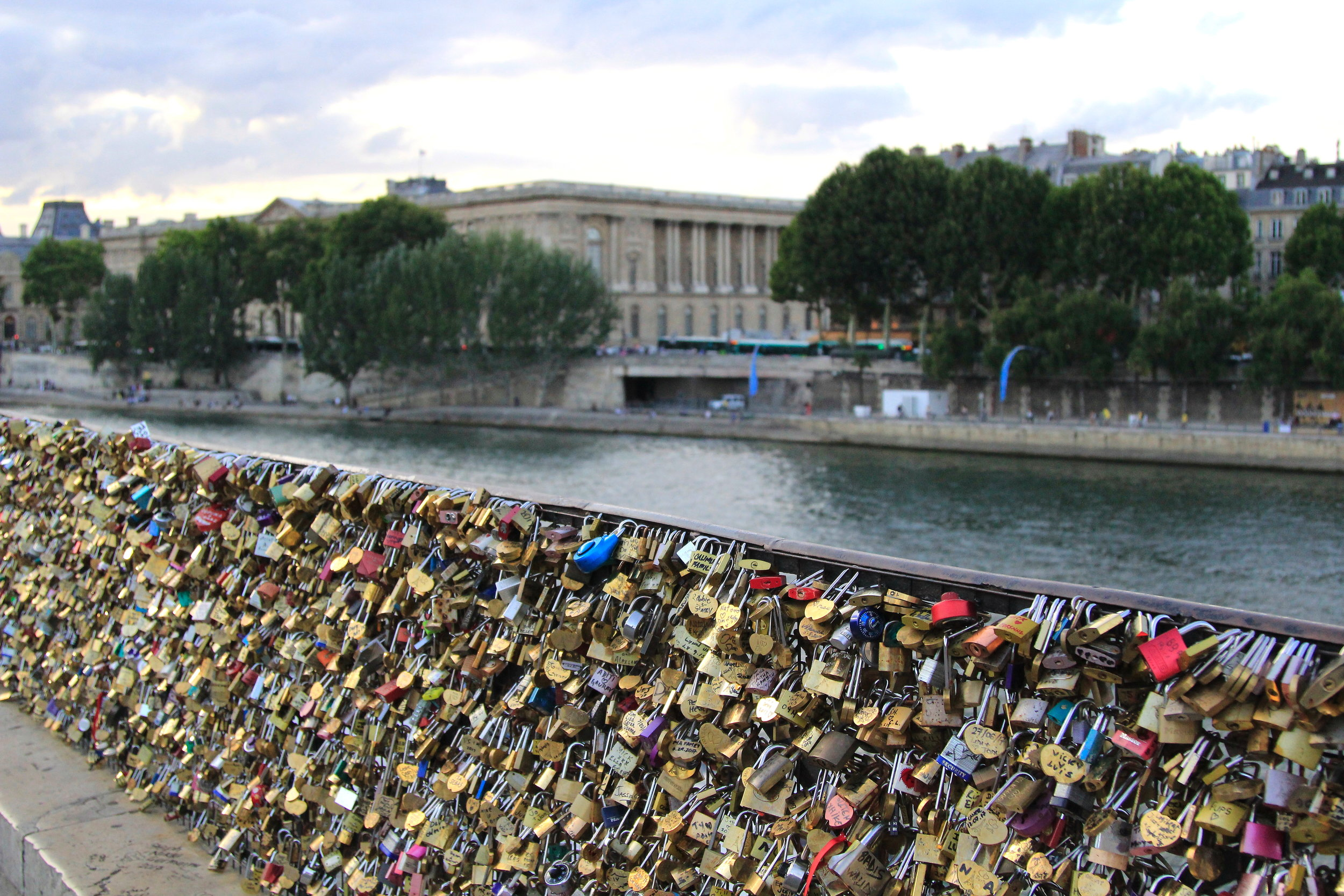 Lock Bridge, Paris