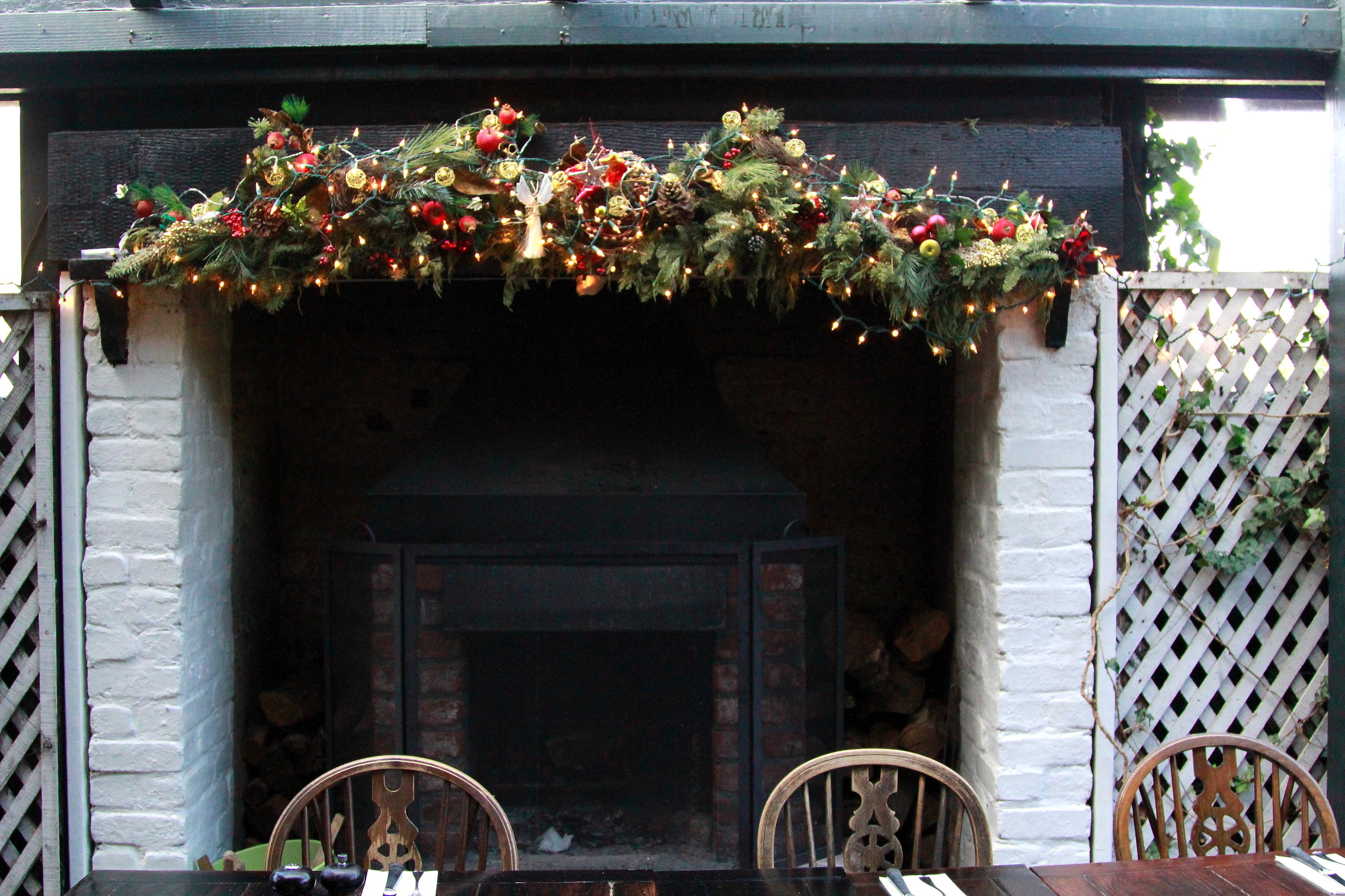 Christmas season at the Pelican Inn