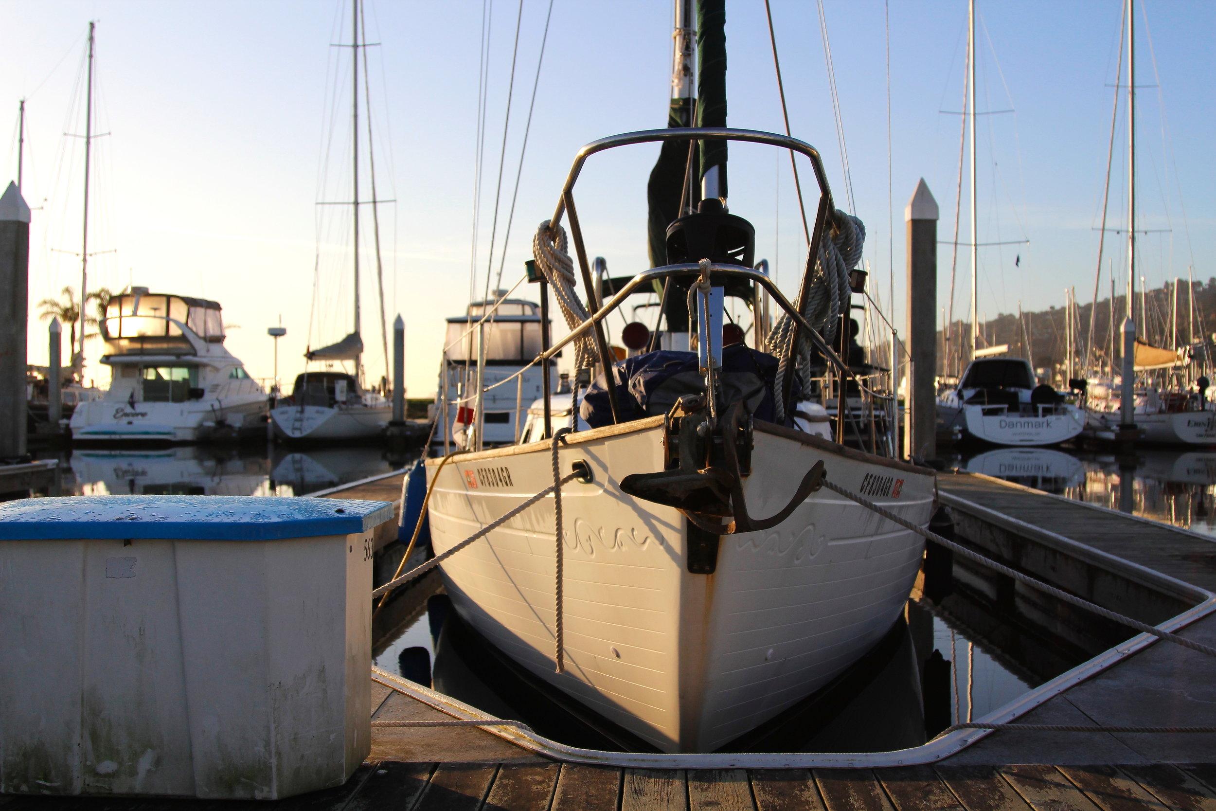 Thisldu sailing blog - becoming liveaboards