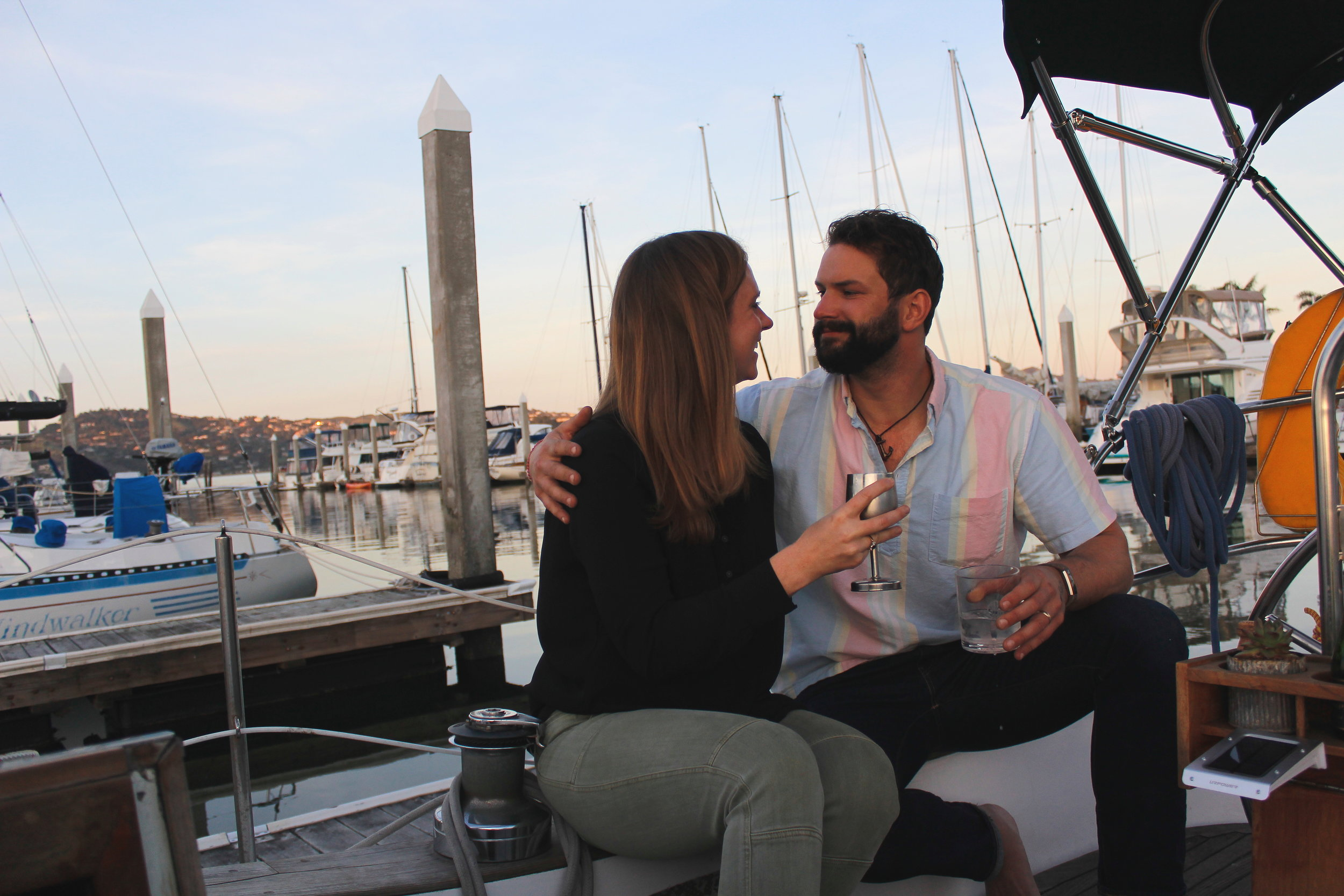 How we transitioned to living aboard our sailboat