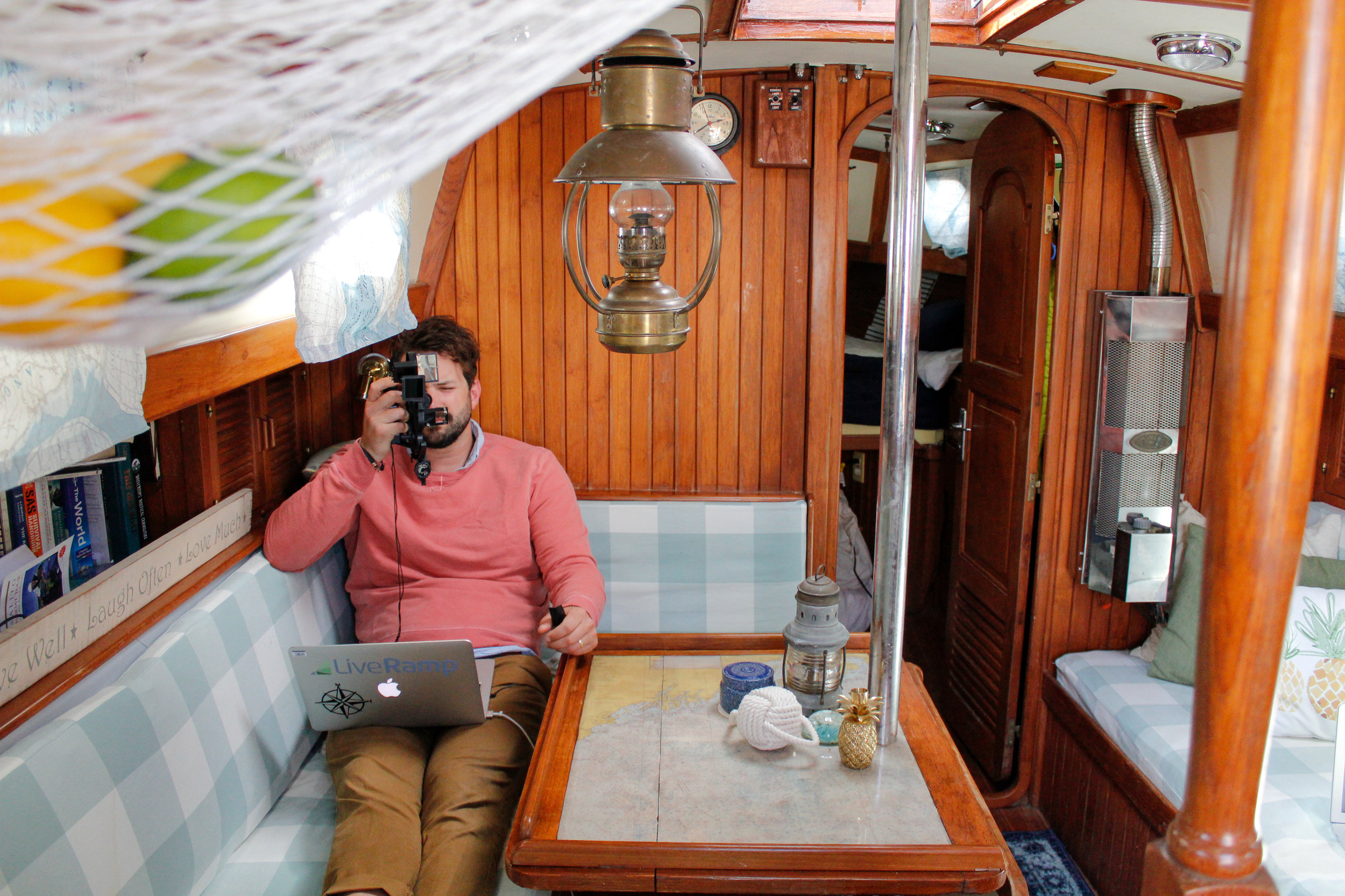 blog about living on a sailboat!