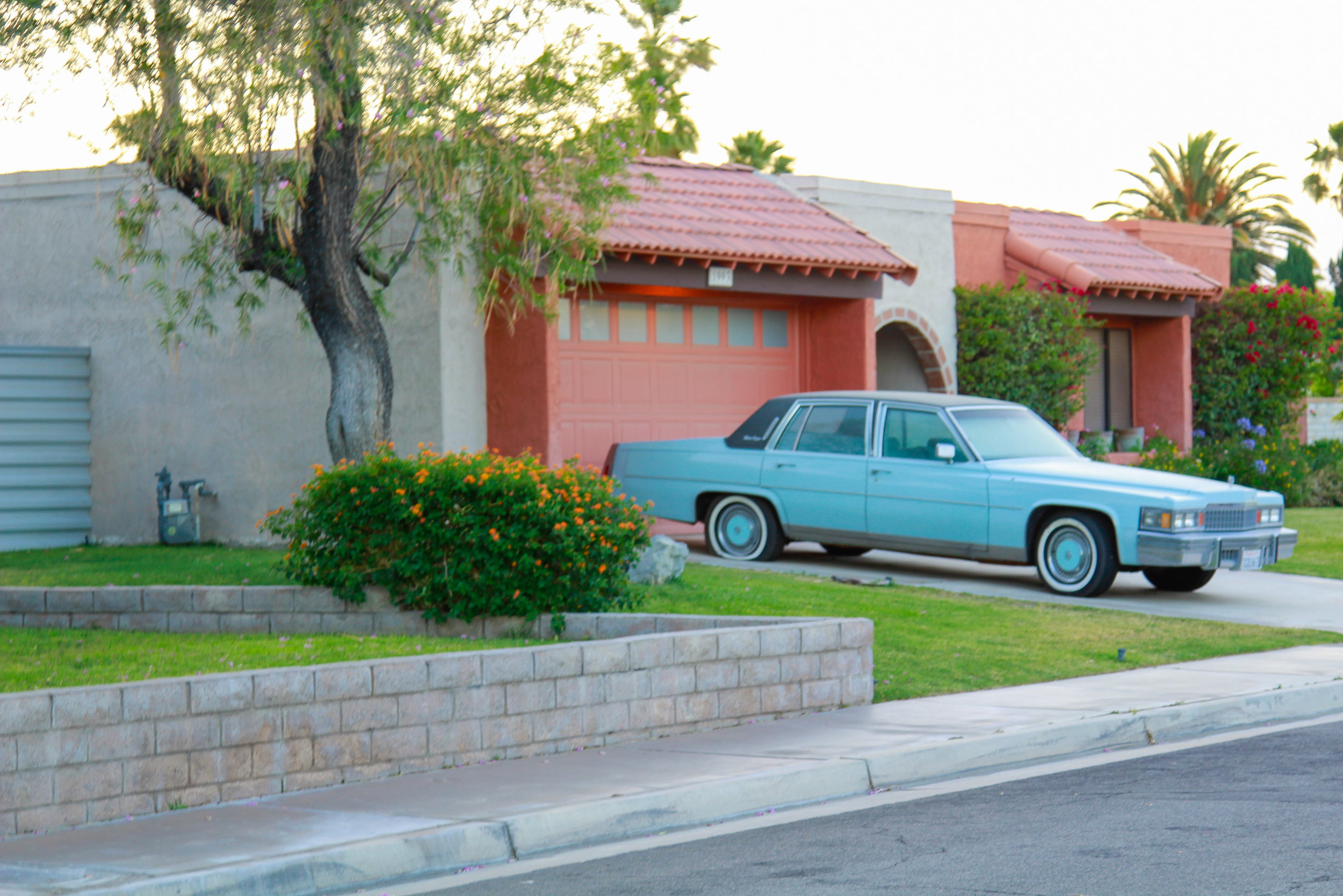 Step into the 1950s in Palm Springs