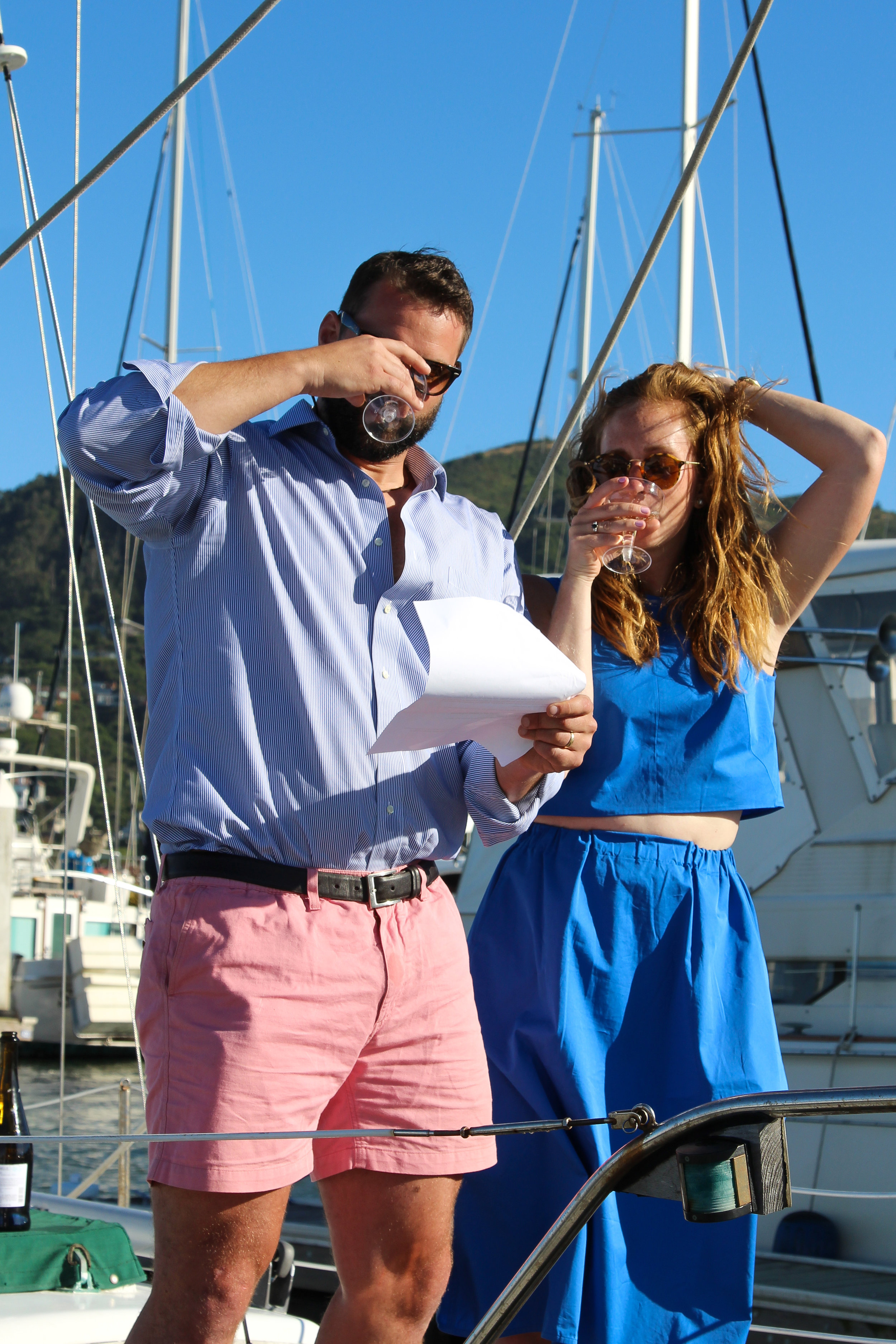 how to conduct a boat renaming ceremony